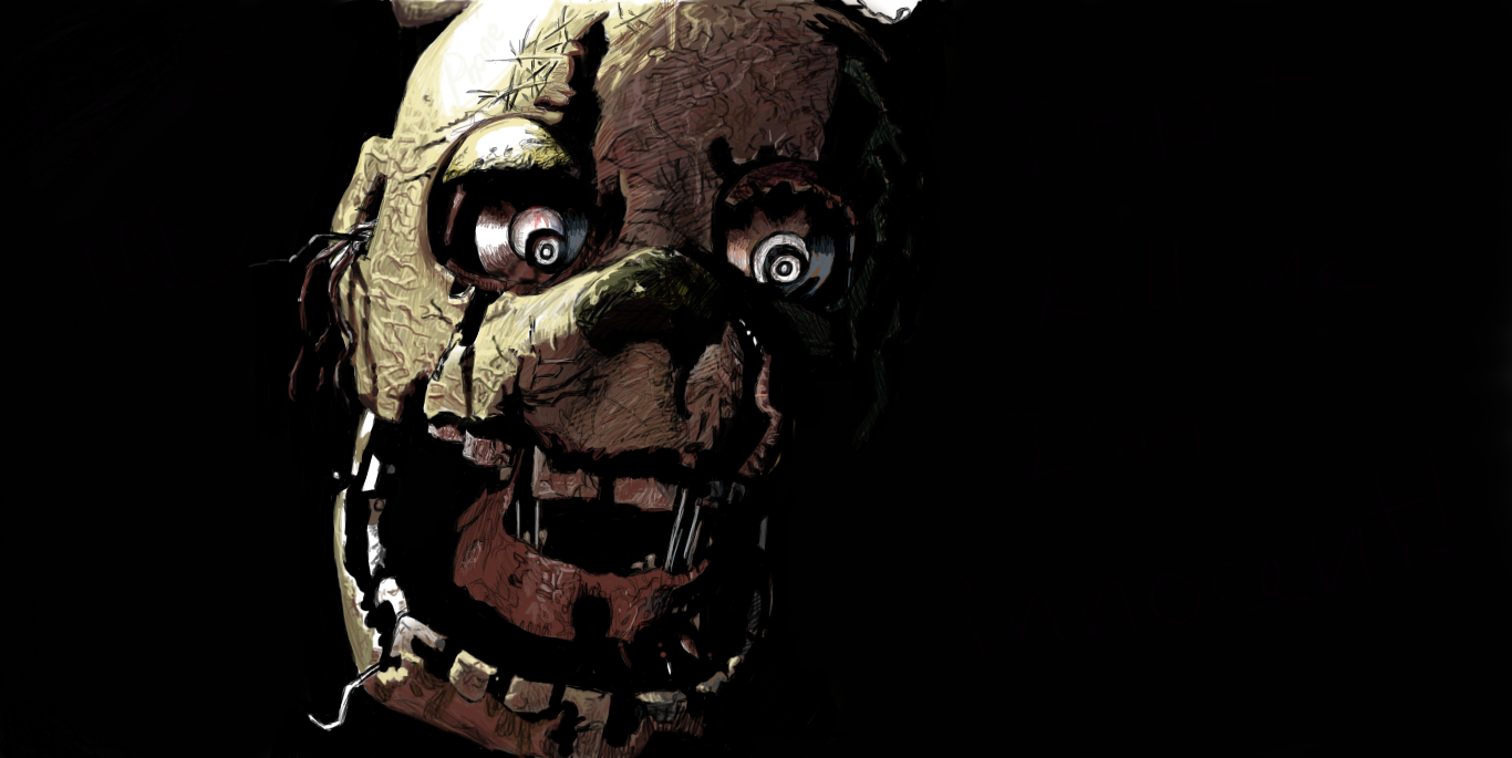 Brighten and Darken Springtrap
