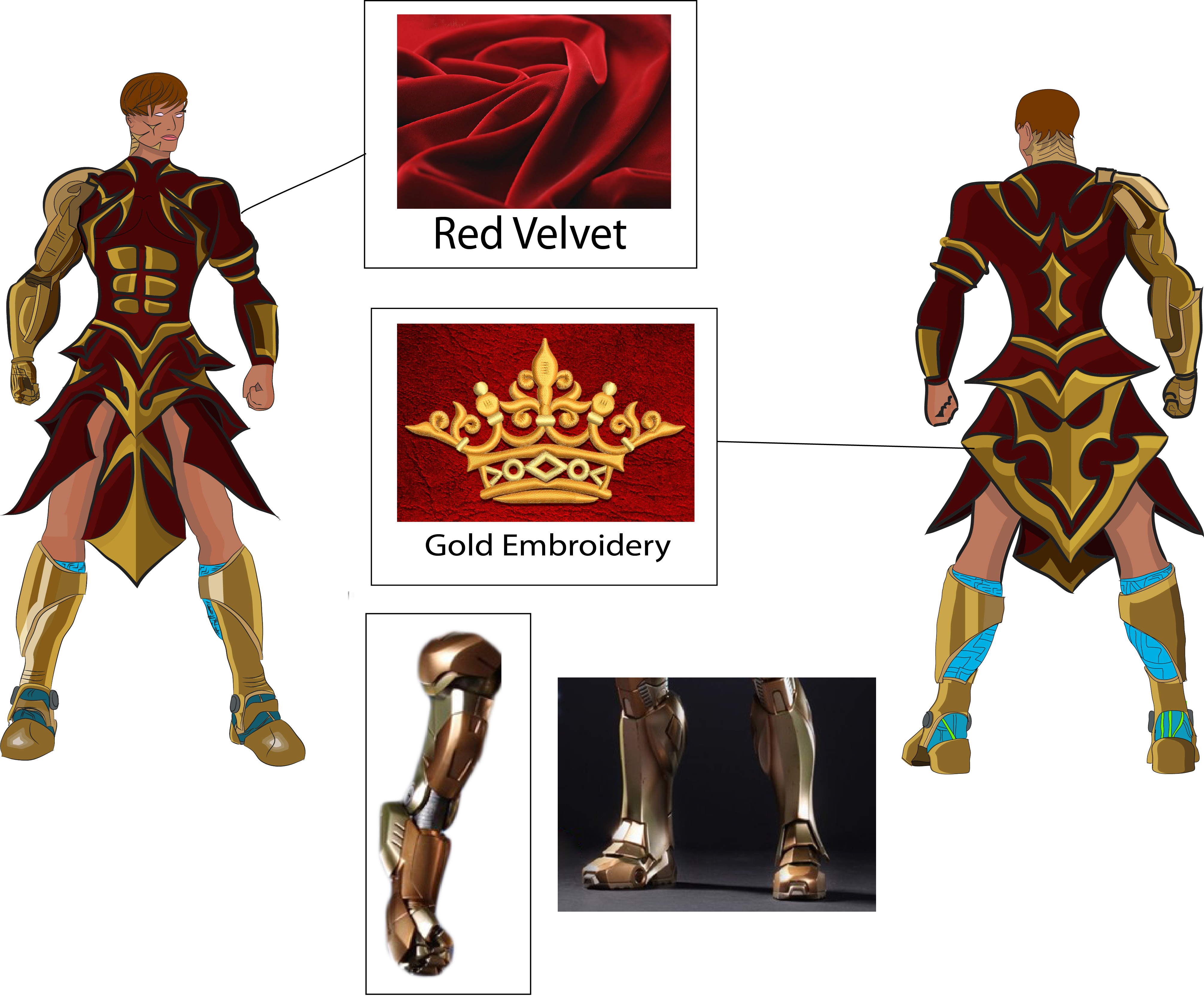 design a costume for the new movie 'Valérian and the City of a Thousand Planets'