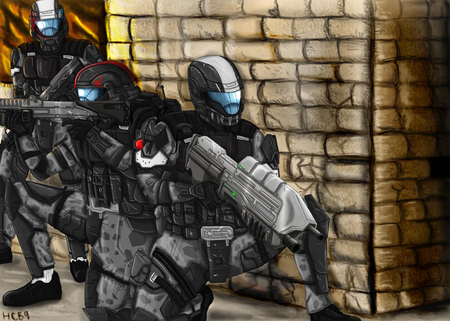ODST: Feet first into hell