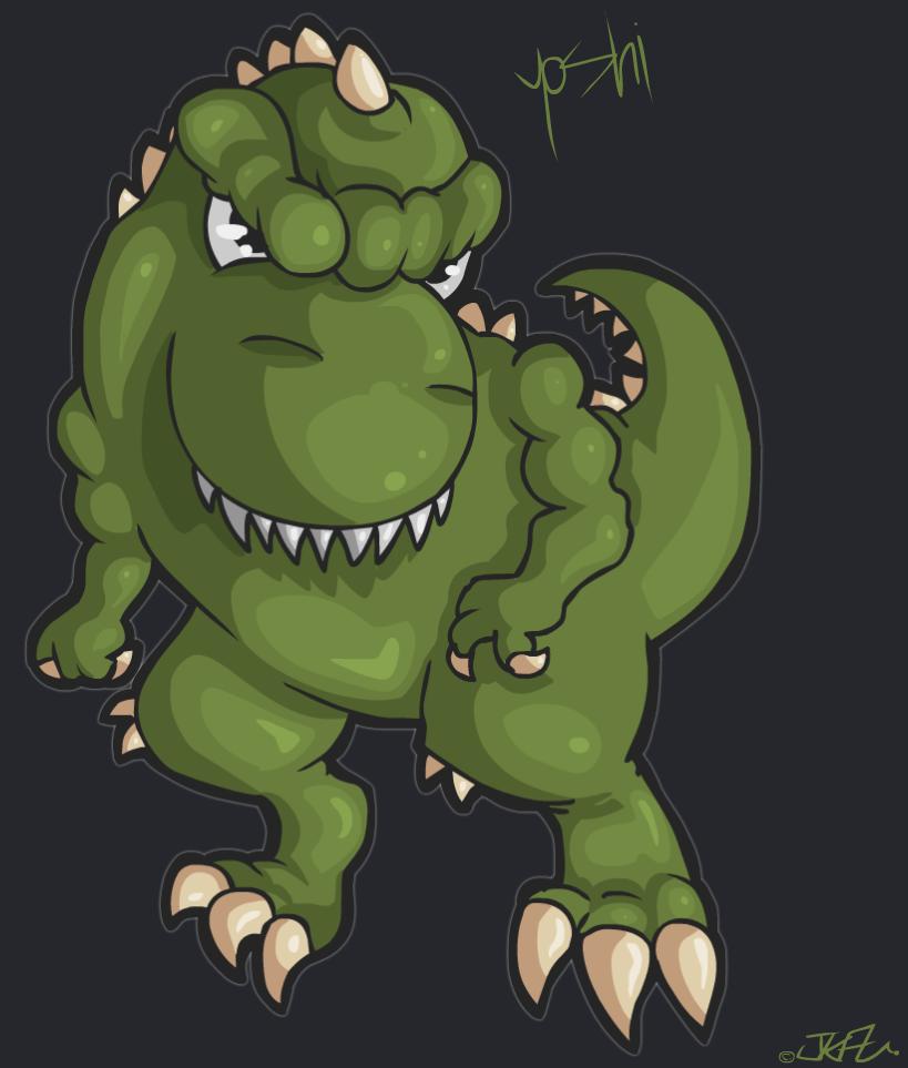 -Yoshi The Dinosaur-