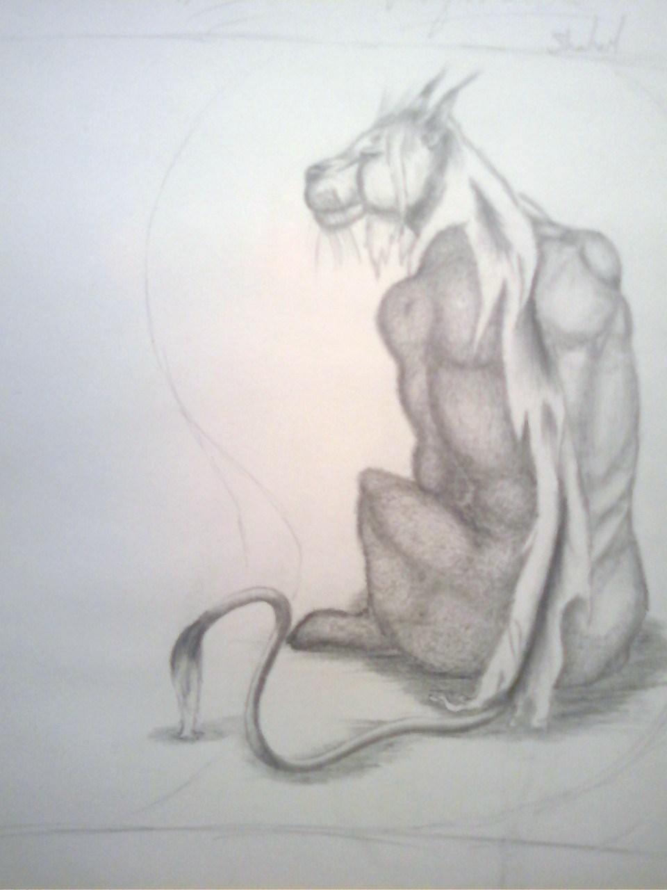 Vessen Character Sketch