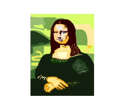 Mona Lisa Copy
