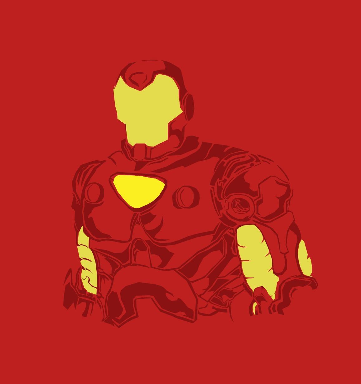 Simplistic Iron Man
