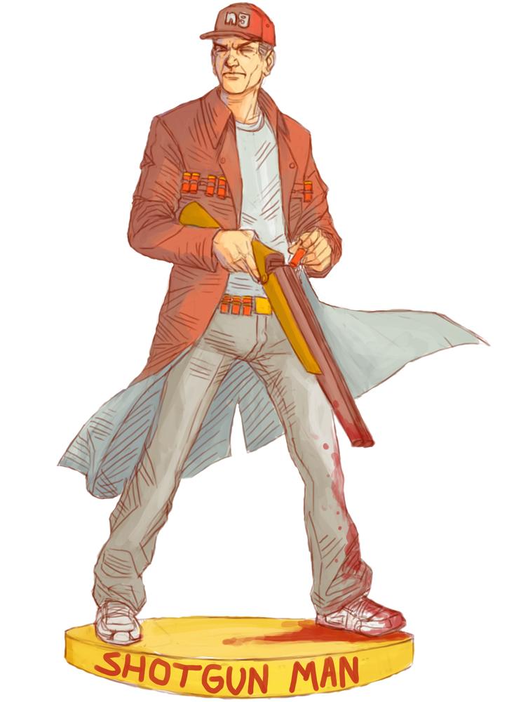 Shotgun Man