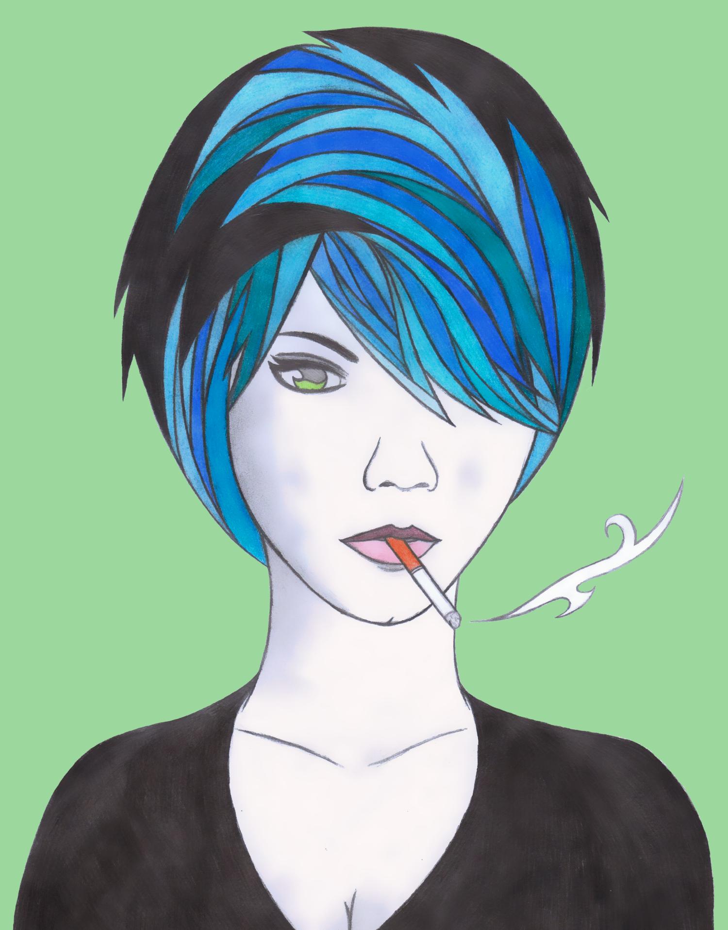 Cigarette Girl 2 Revised