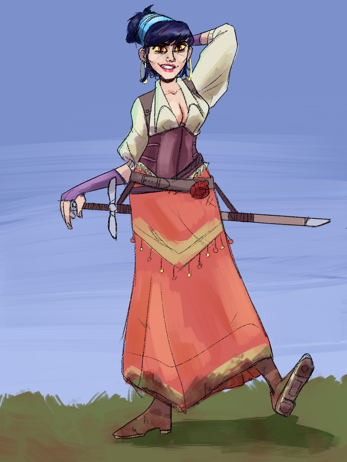 Valentina the wandering sword