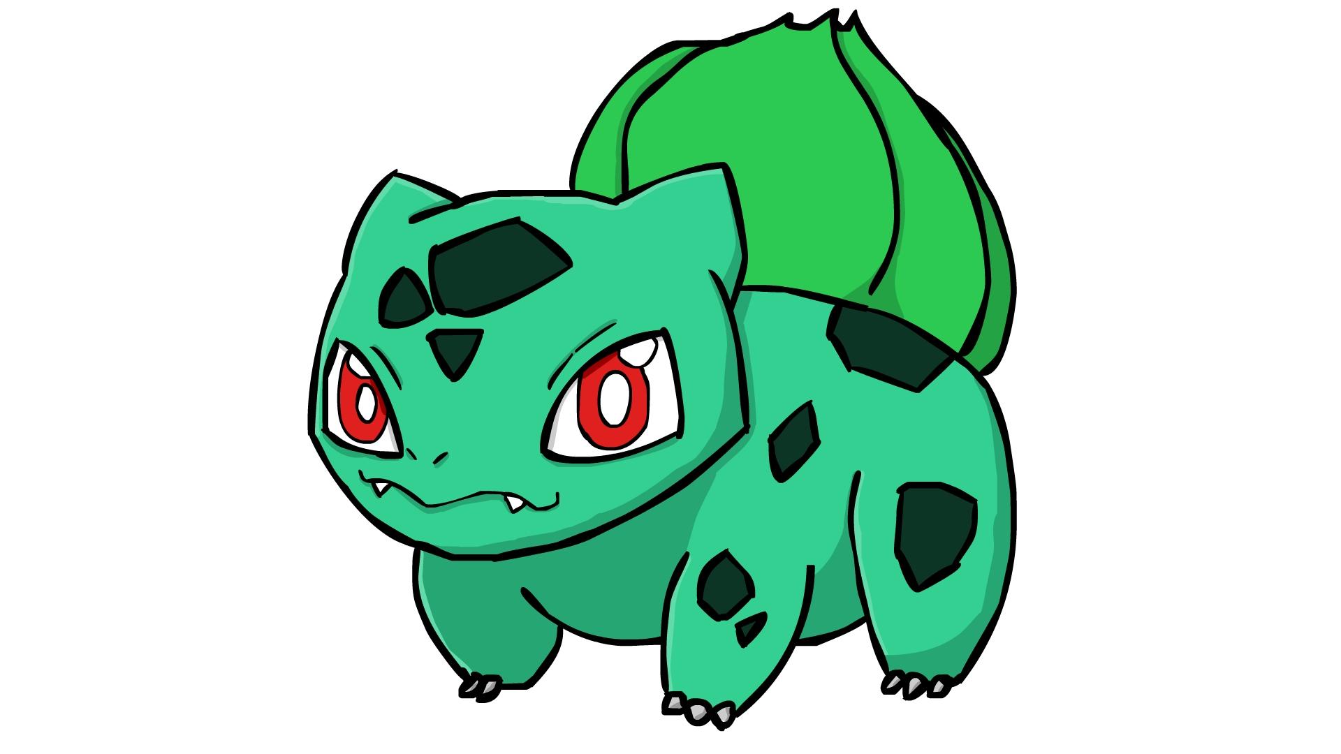 Kawaii Bulbasaur
