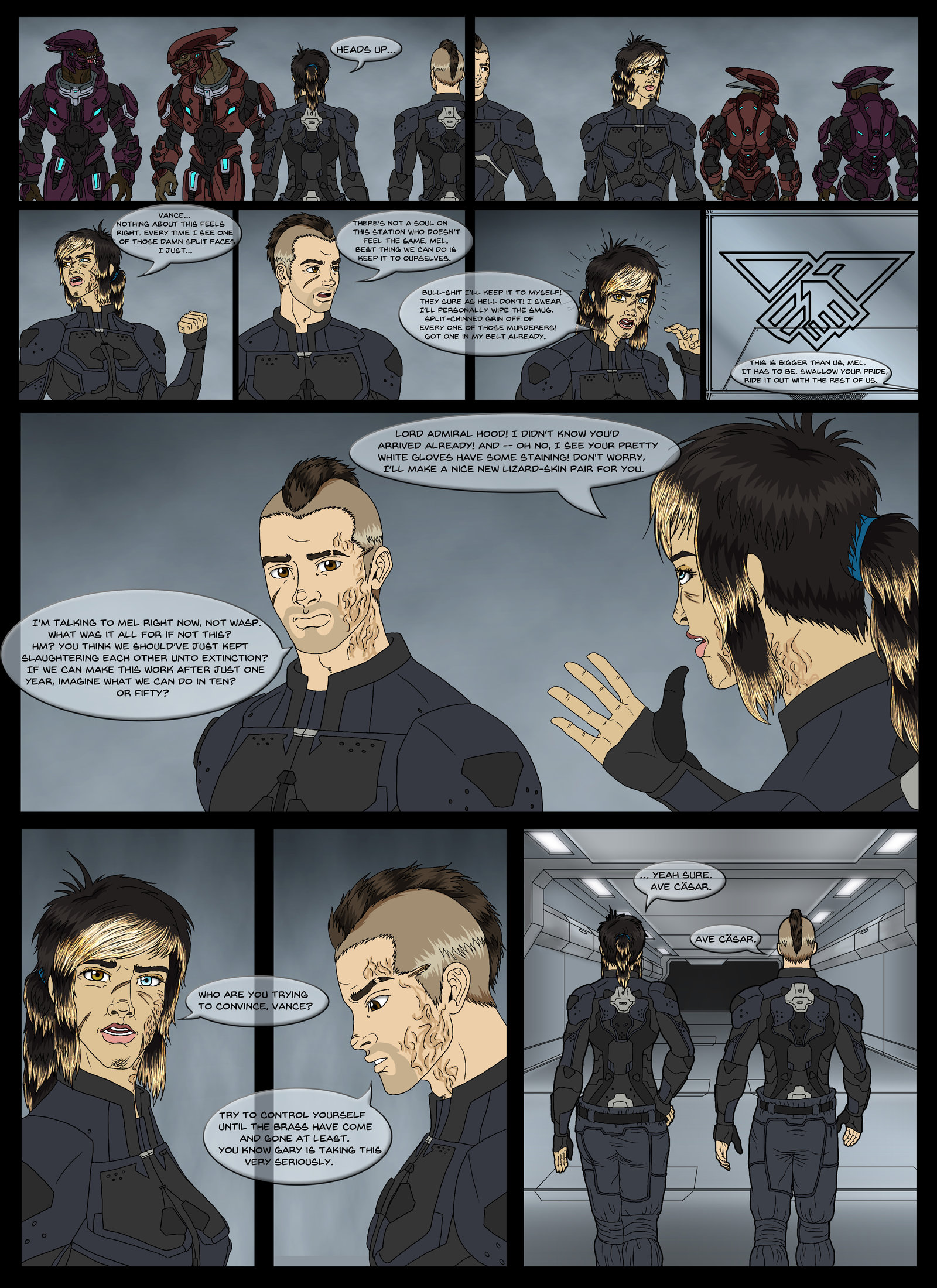 Halo Ammunition: Anvil Initiative Pg 1 by Guyver89 on