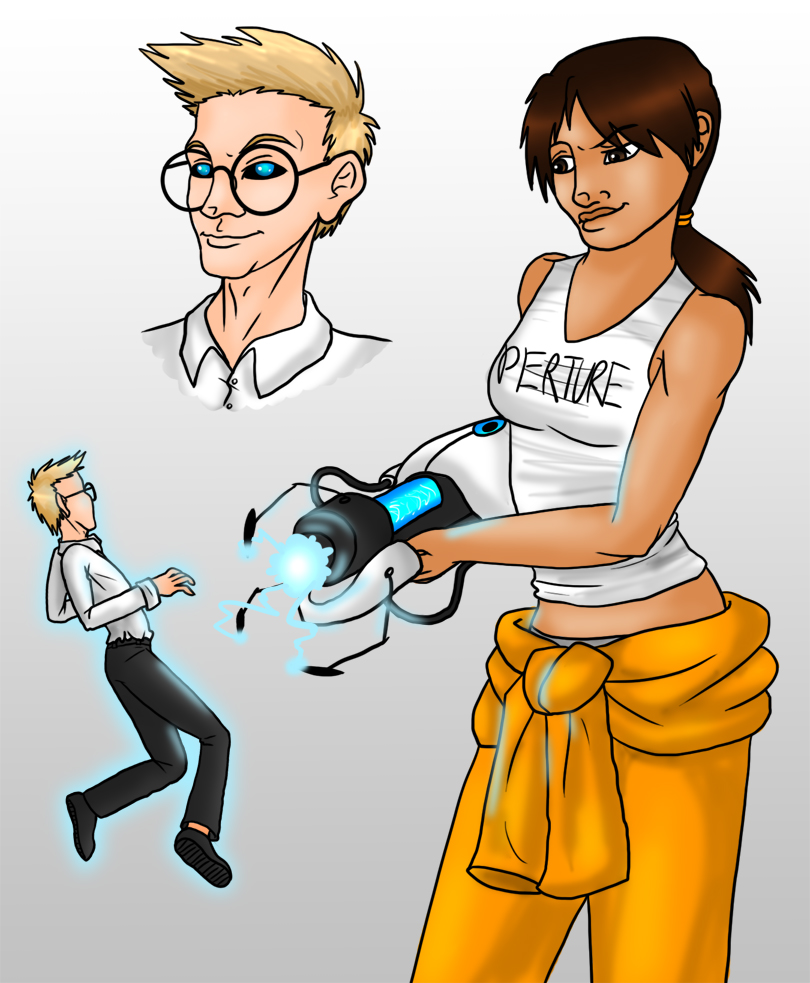 Wheatley and Chell