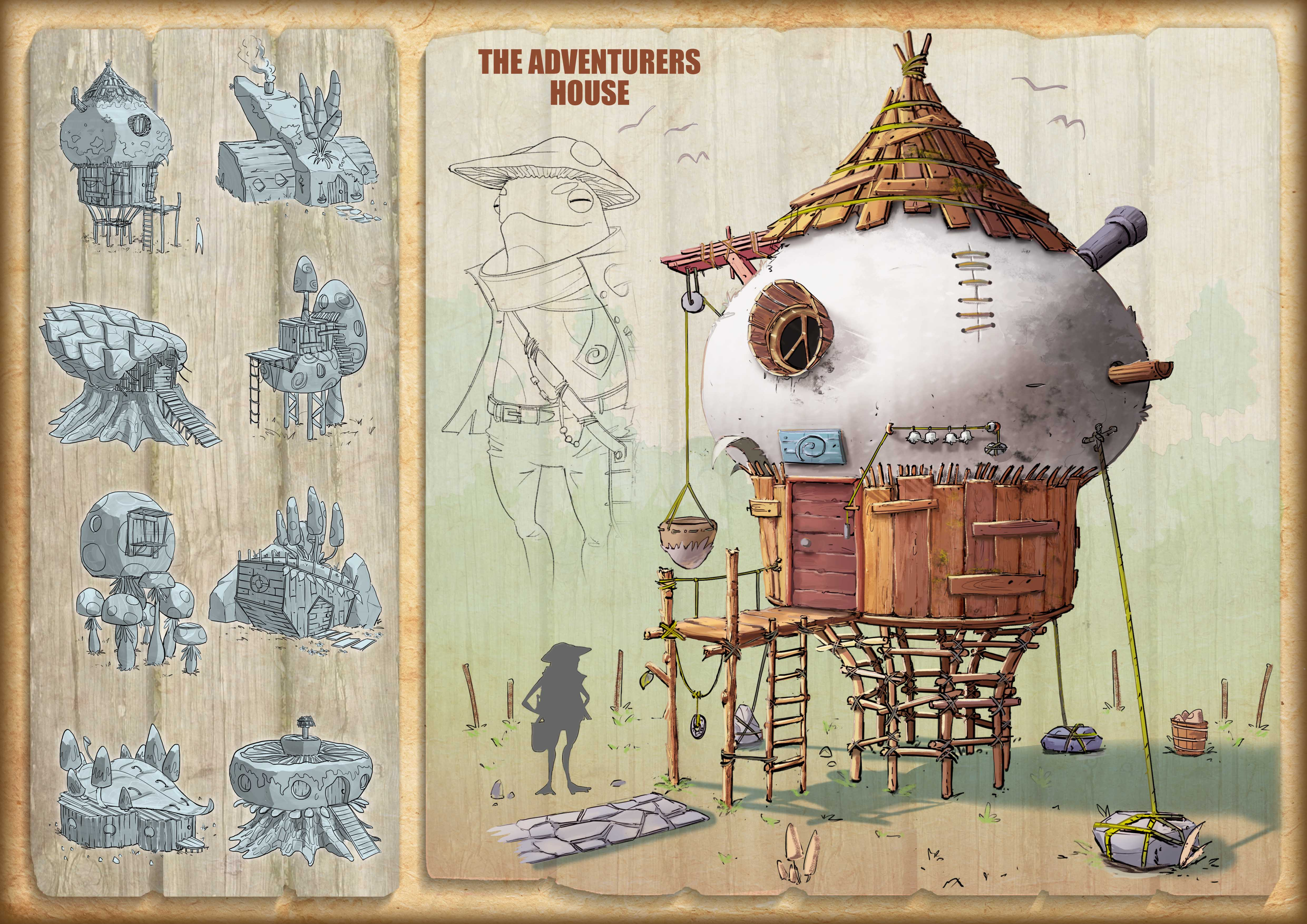 The Adventurer's house