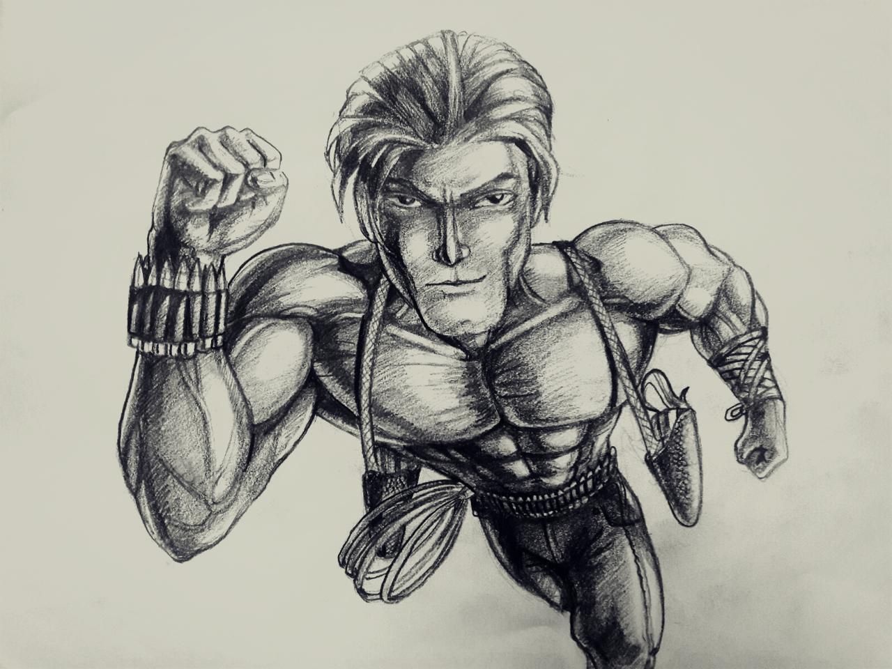 Concept Sketch, by pencil