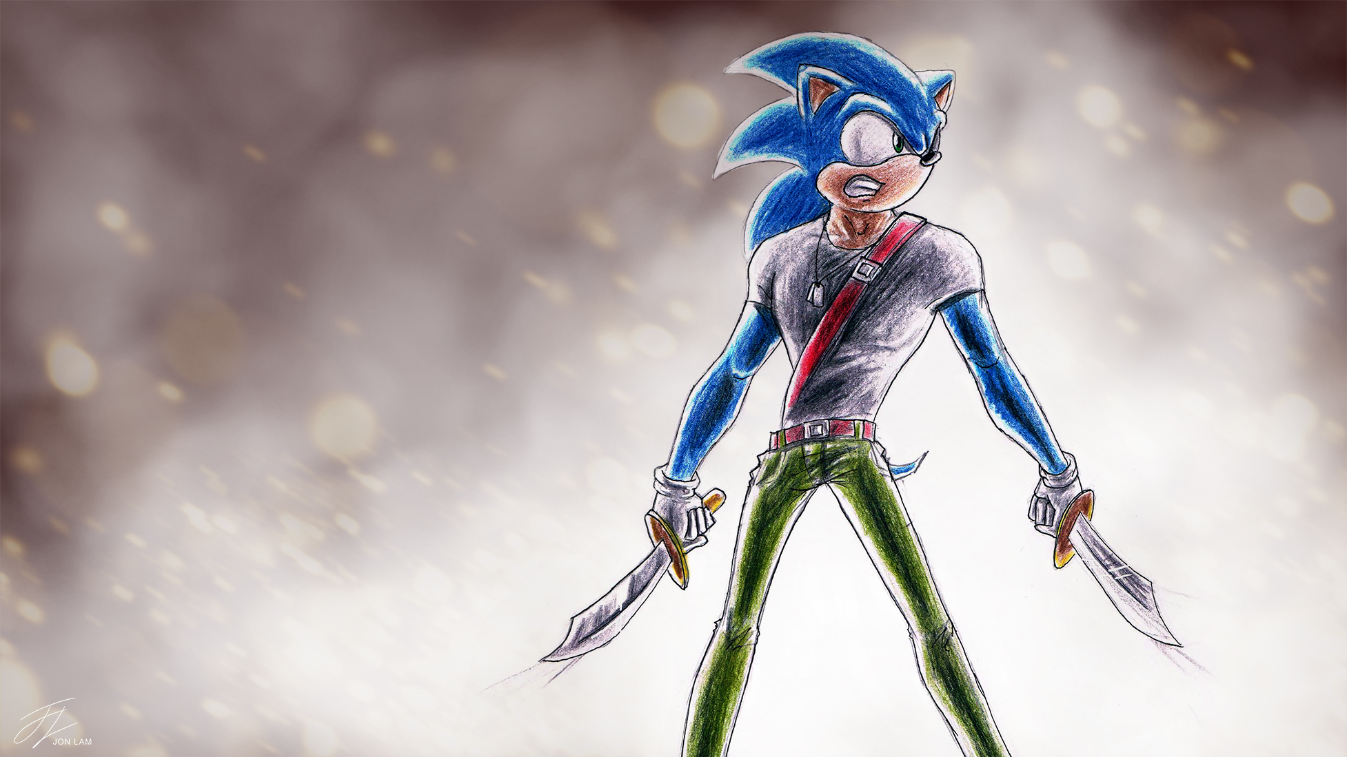 Sonic Army Style