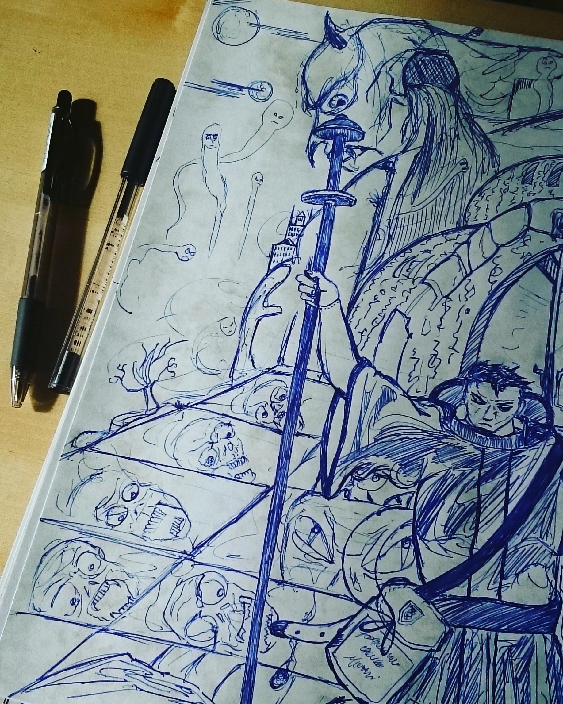The Skriptor and the Demons Underworld