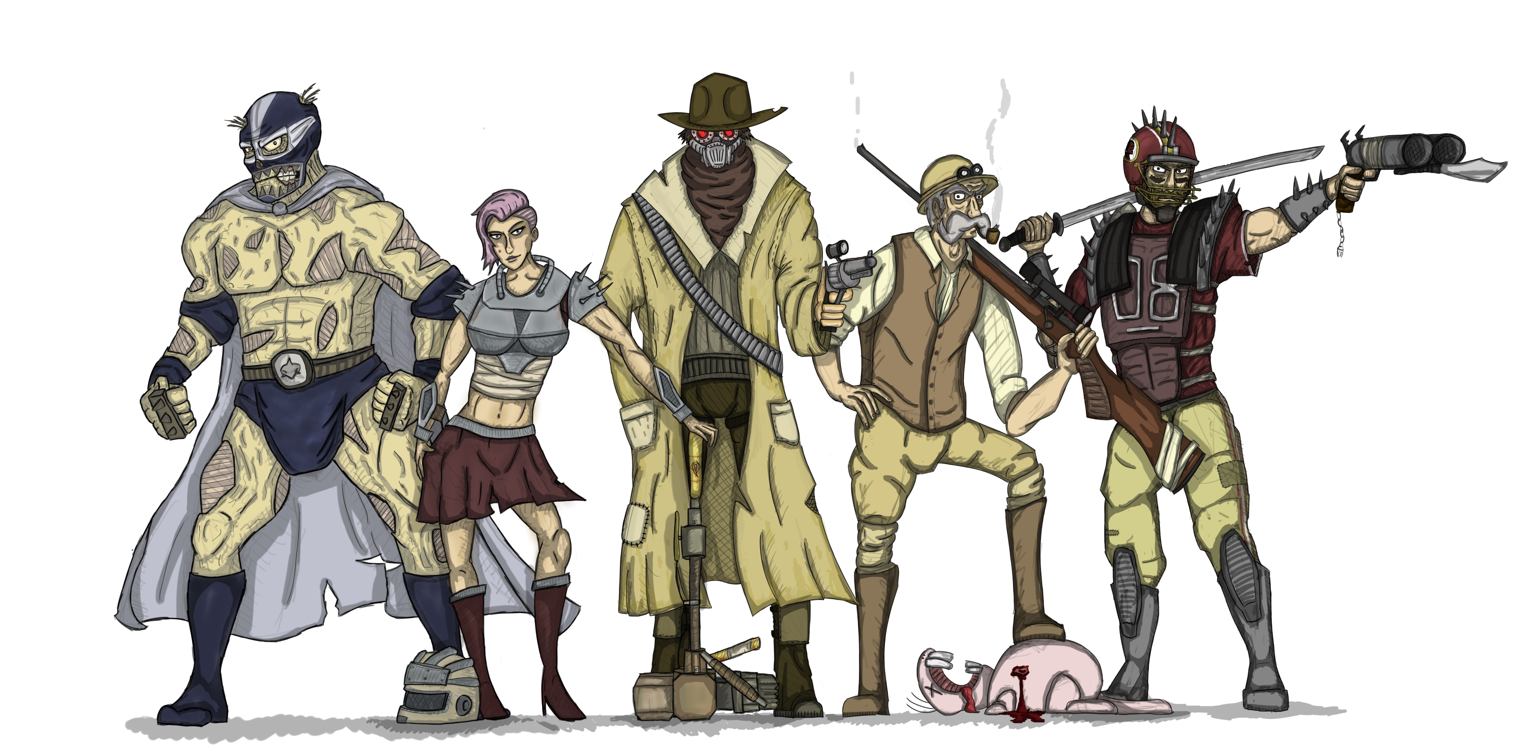 The Team (Fallout DnD)