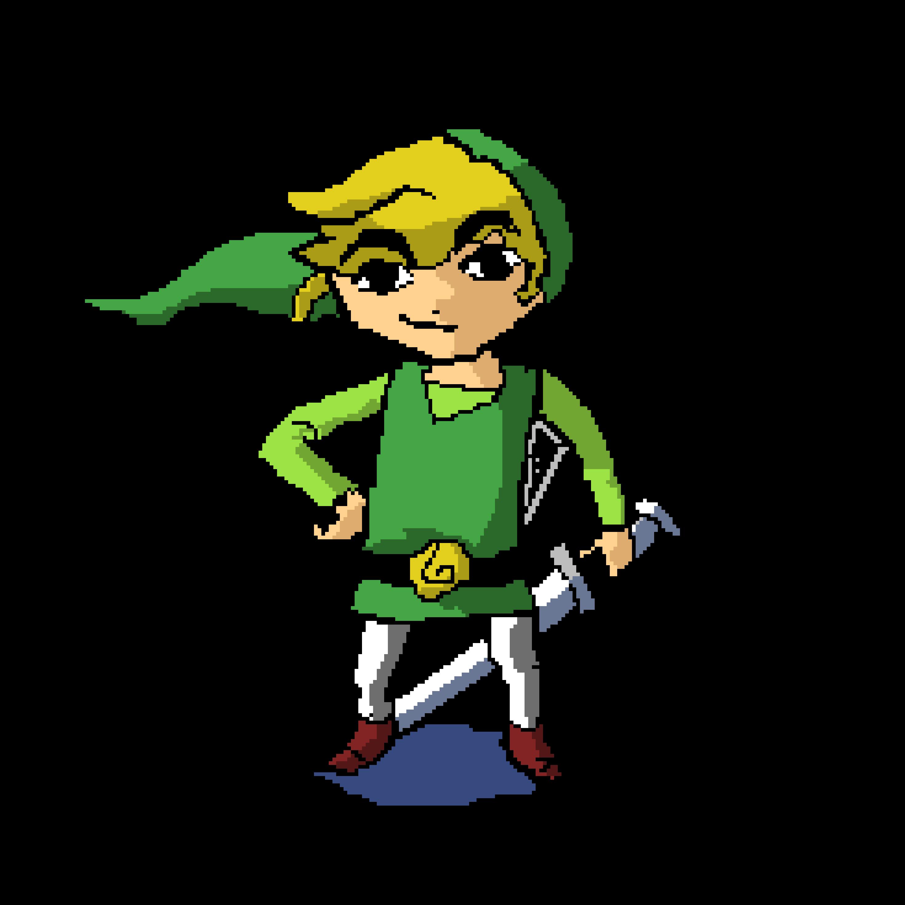 [Pixel Art] Toon Link