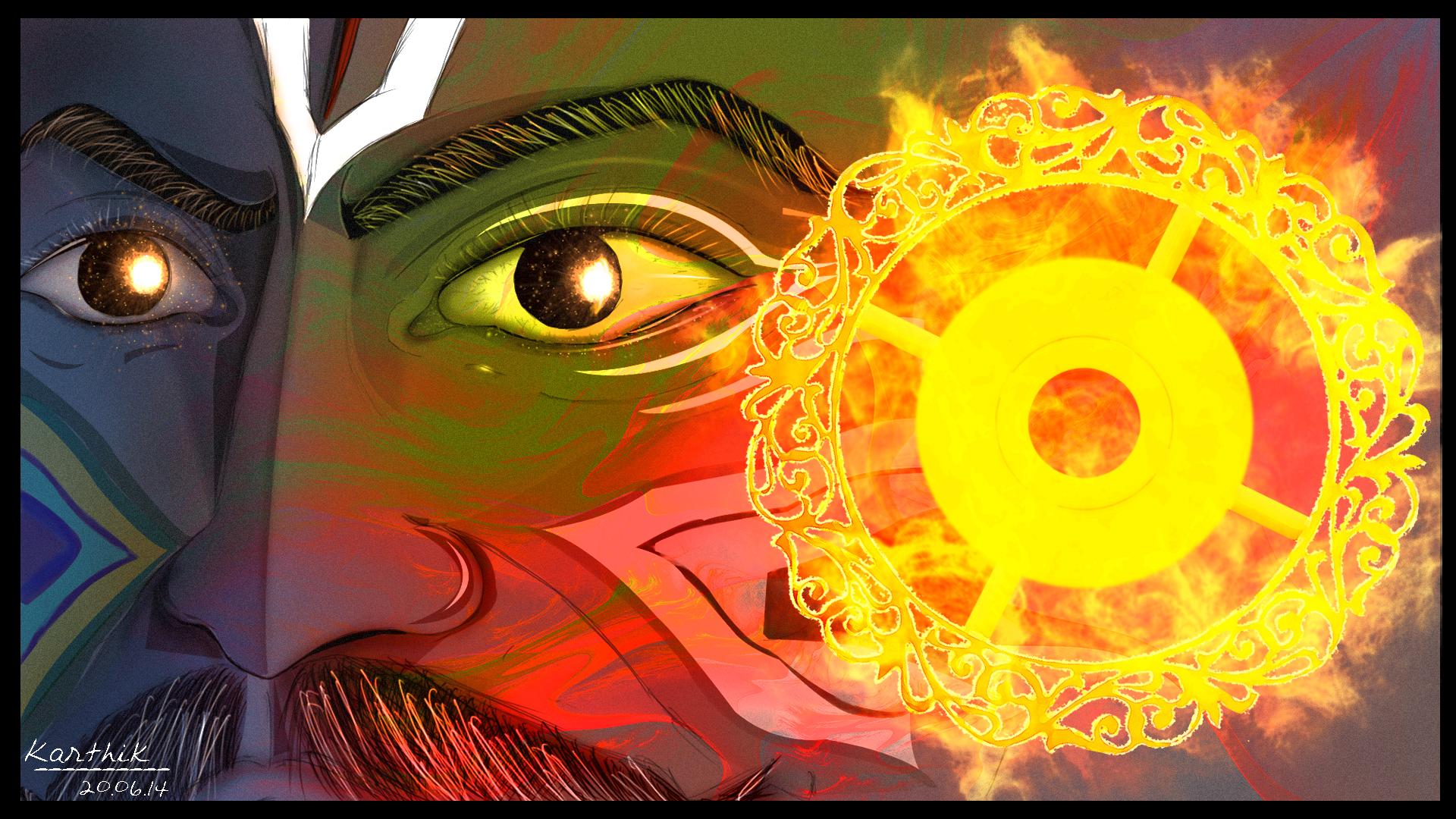 Krishna's Anger