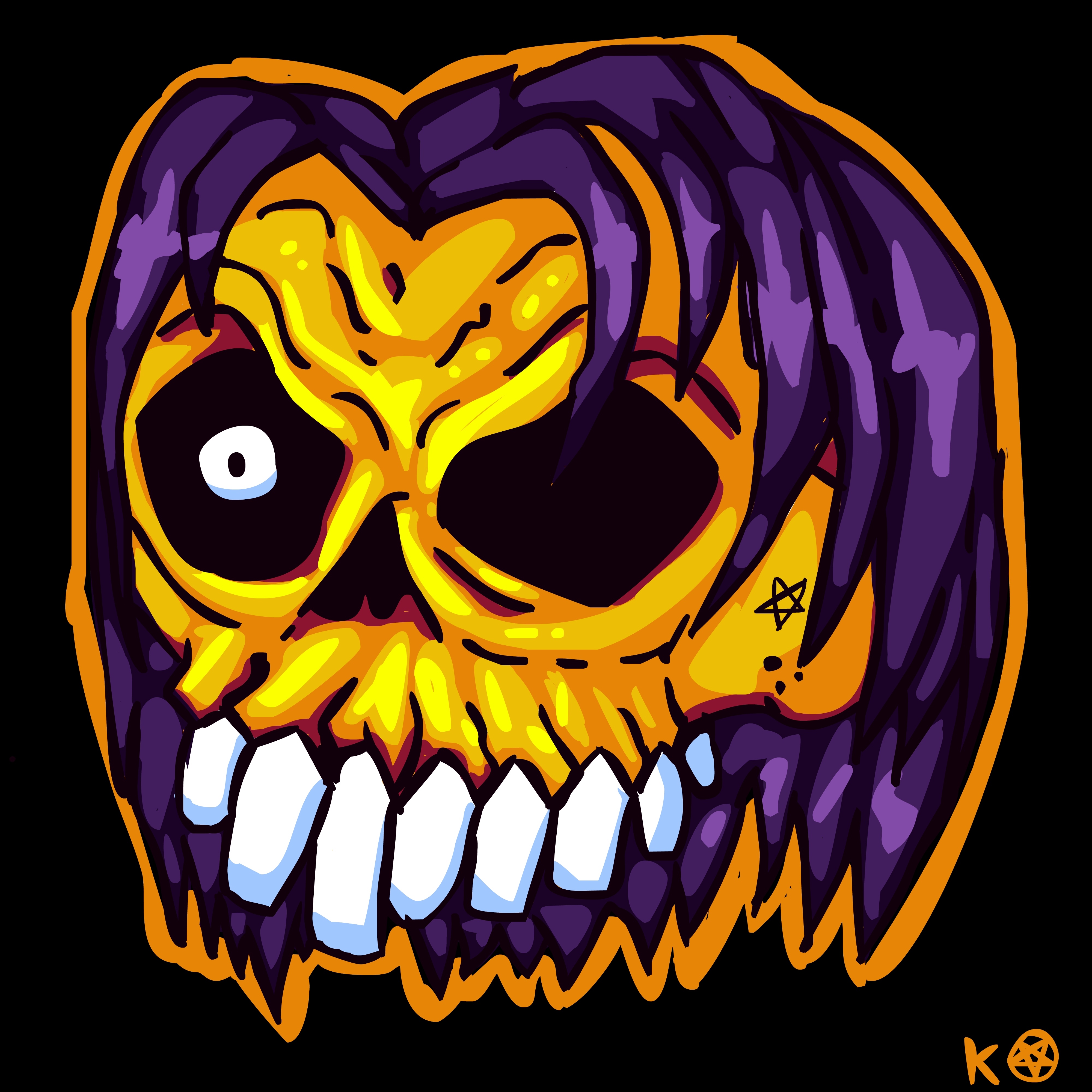 Kramps Skull Thing