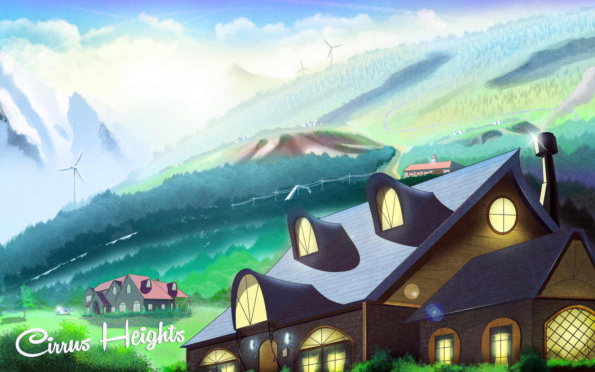 Cirrus Heights Suburbs