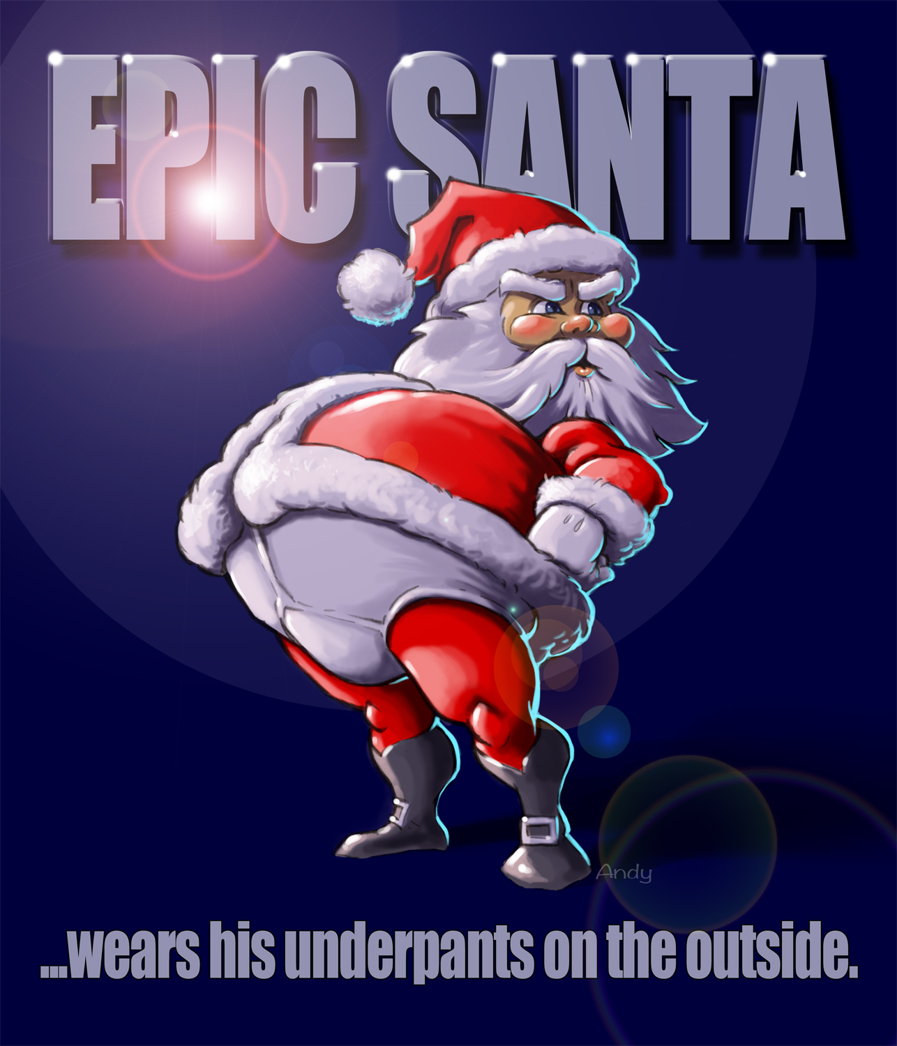 Santa is truly epic