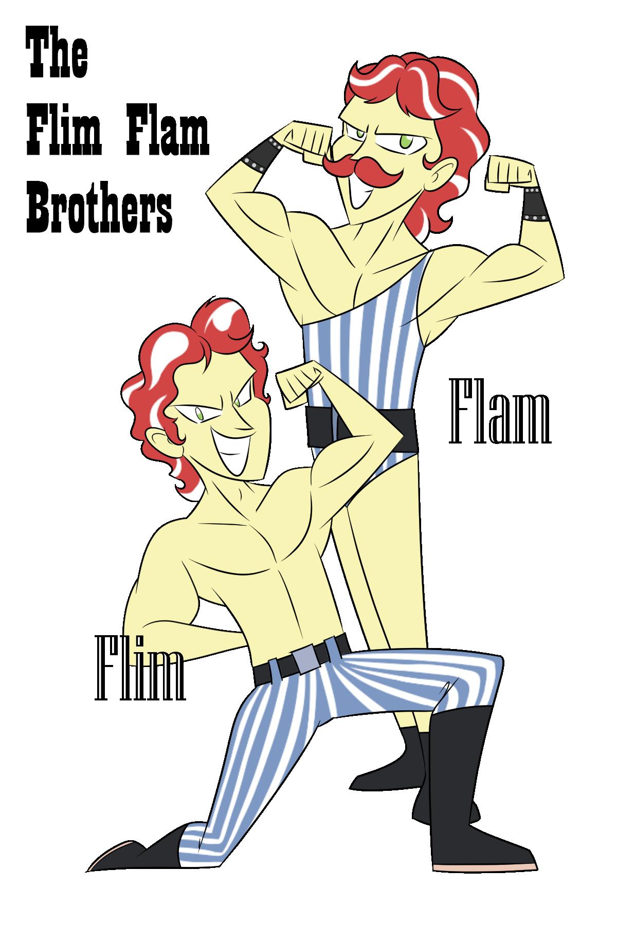 The Vaudevillainous Flim Flam Brothers