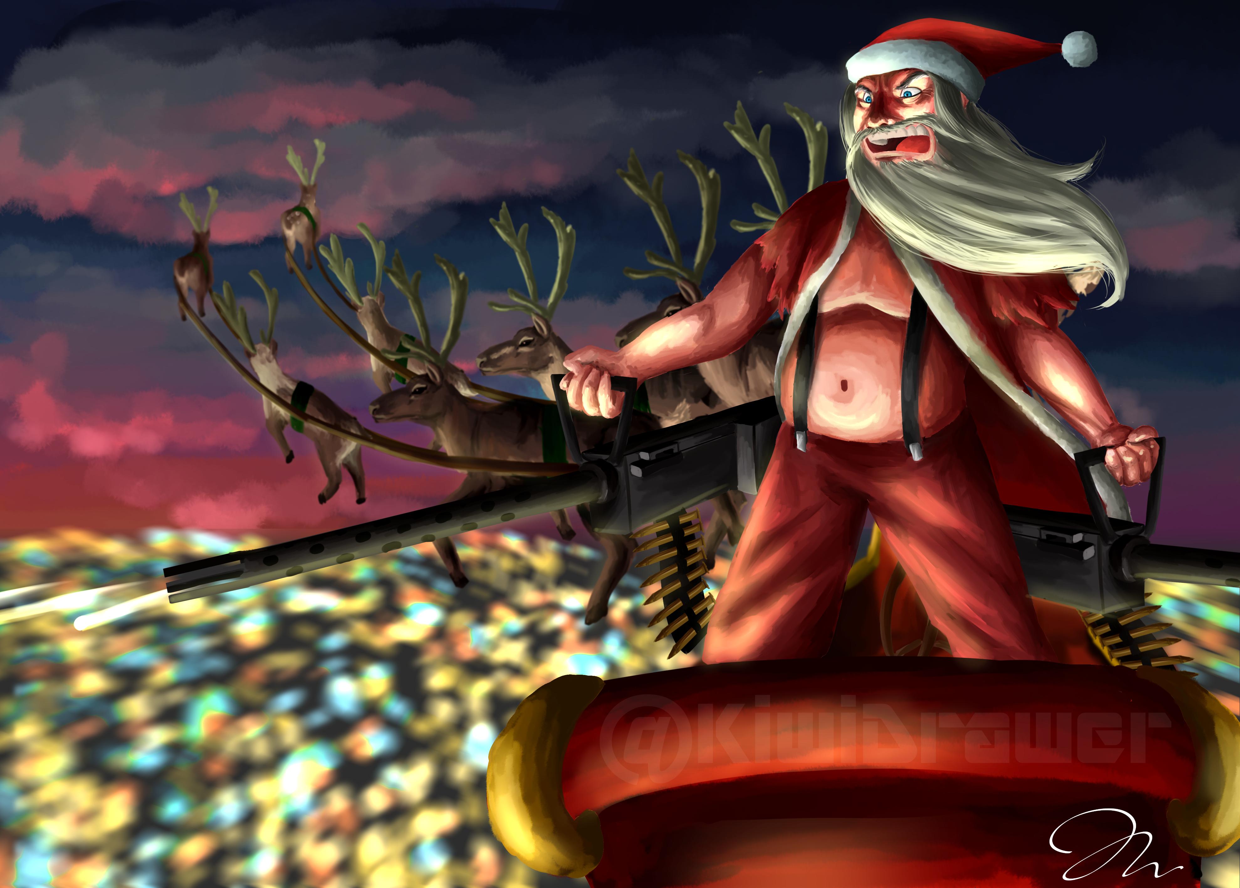 Santa's gone a bit Mad