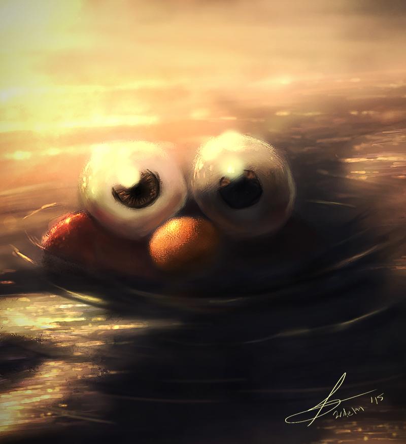 Wet Elmo