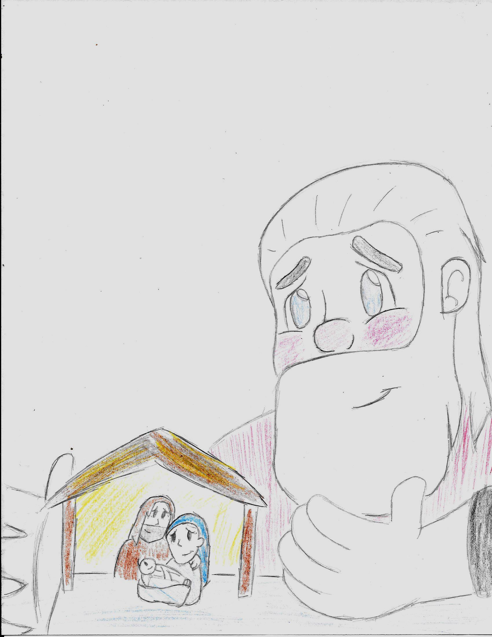 Santa Claus's gift of love