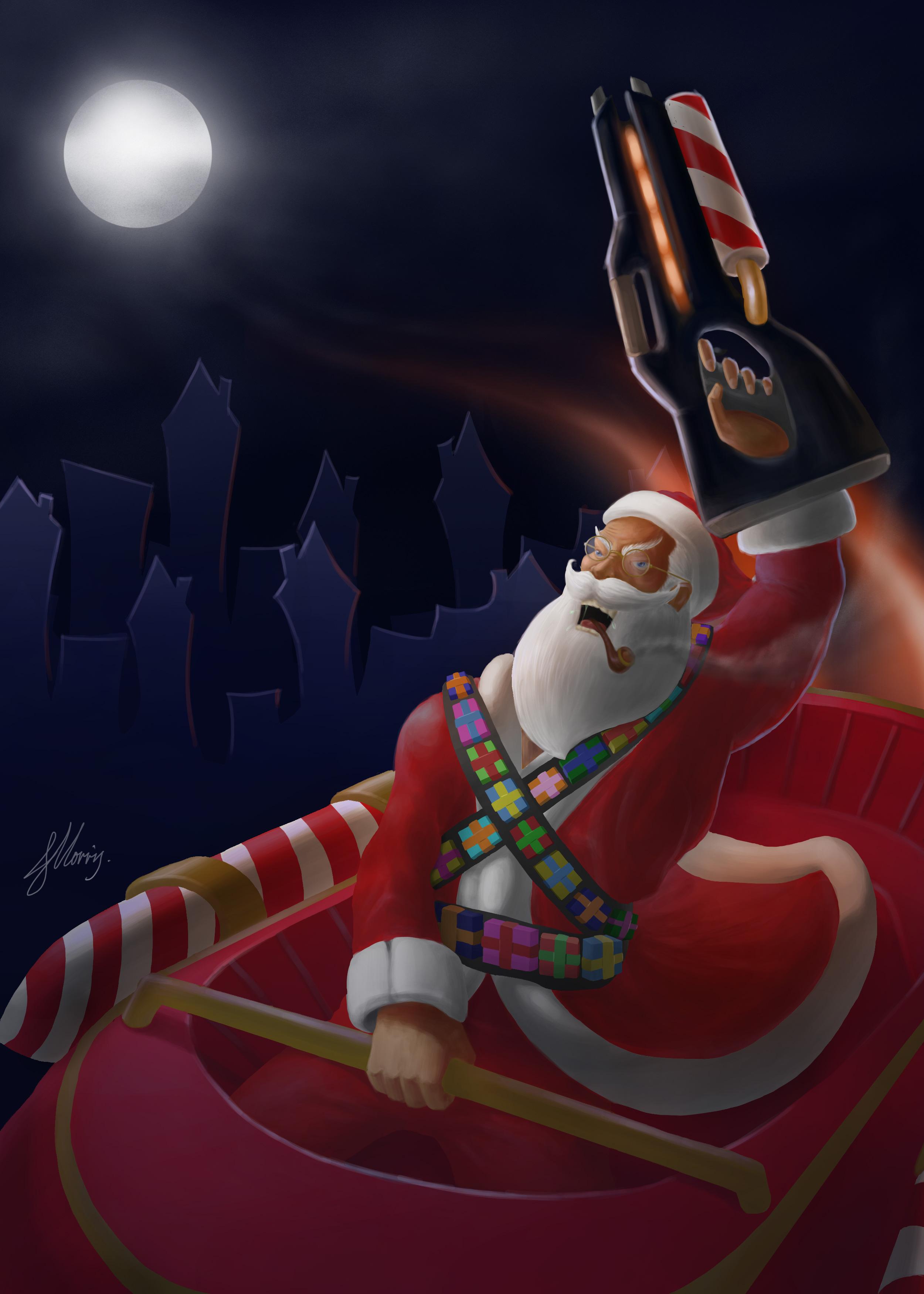 Santa On the Daily