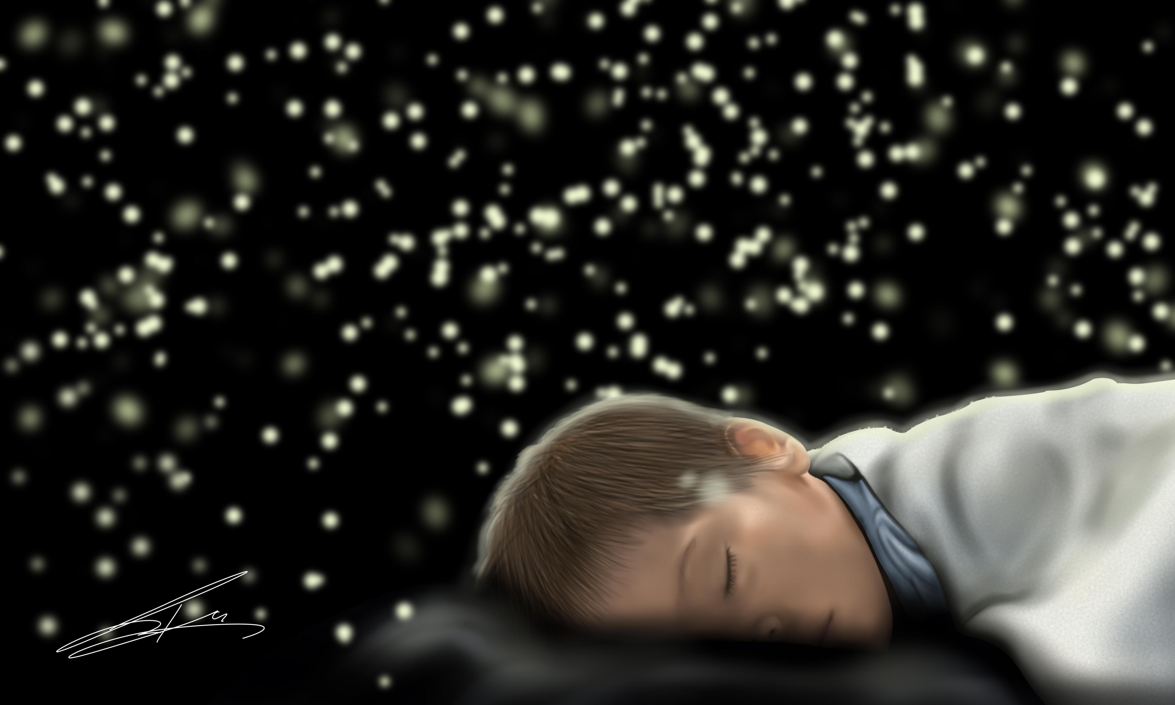 My_son_sleep
