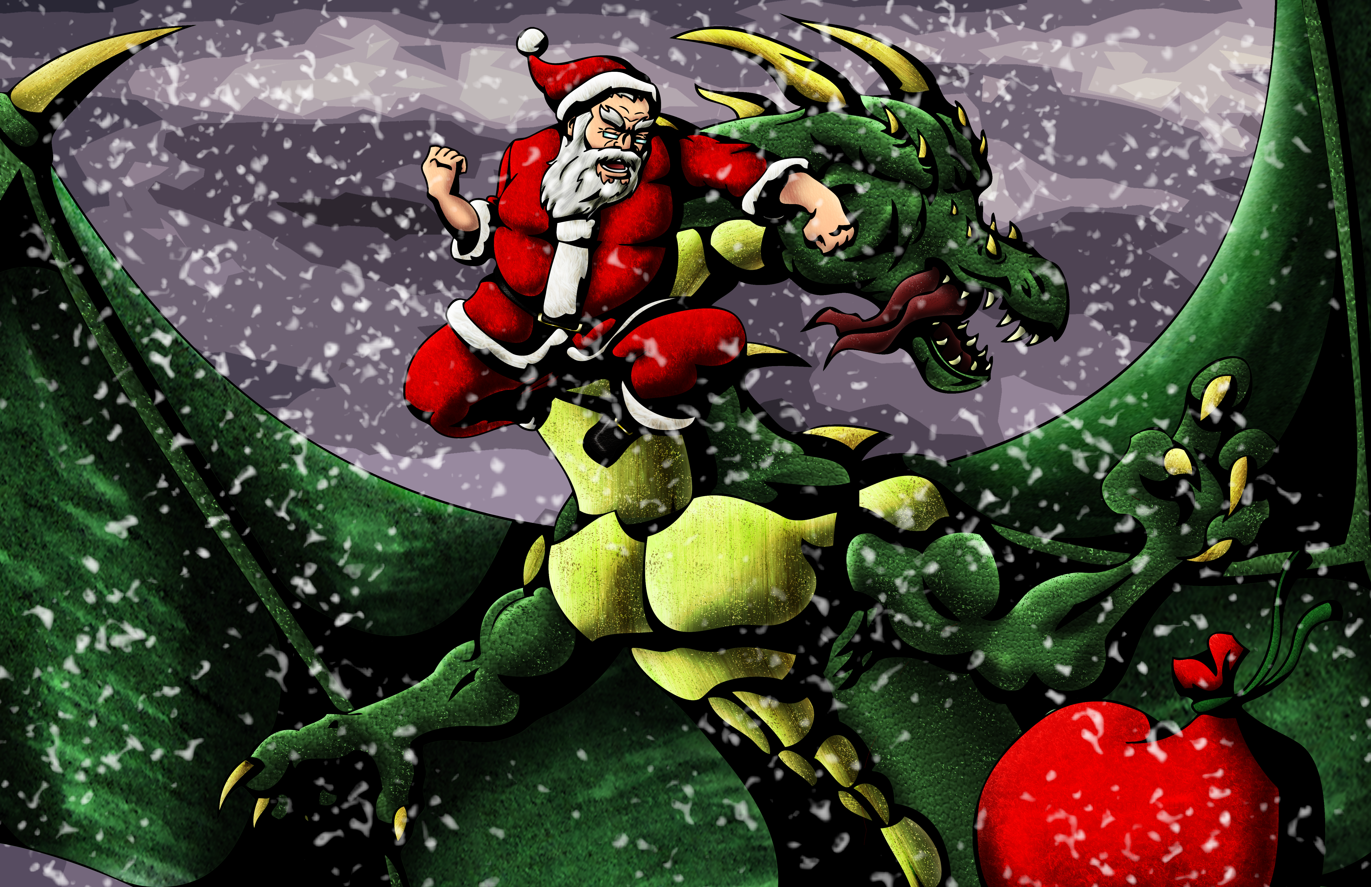 Epic Santa-Those Aren't For You!