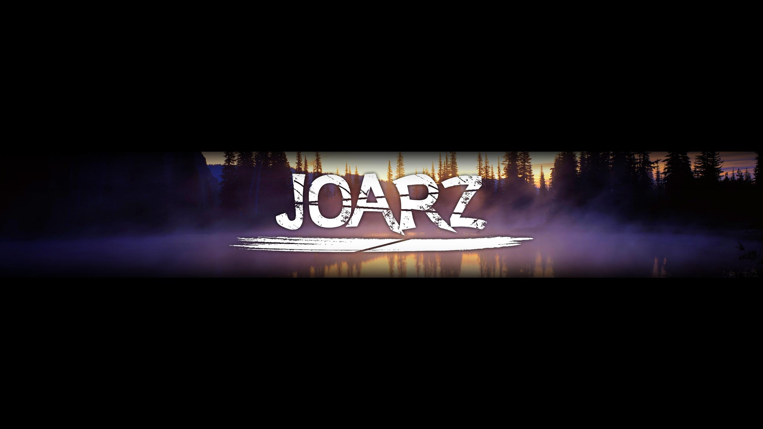 Youtube Banner for JoarZ