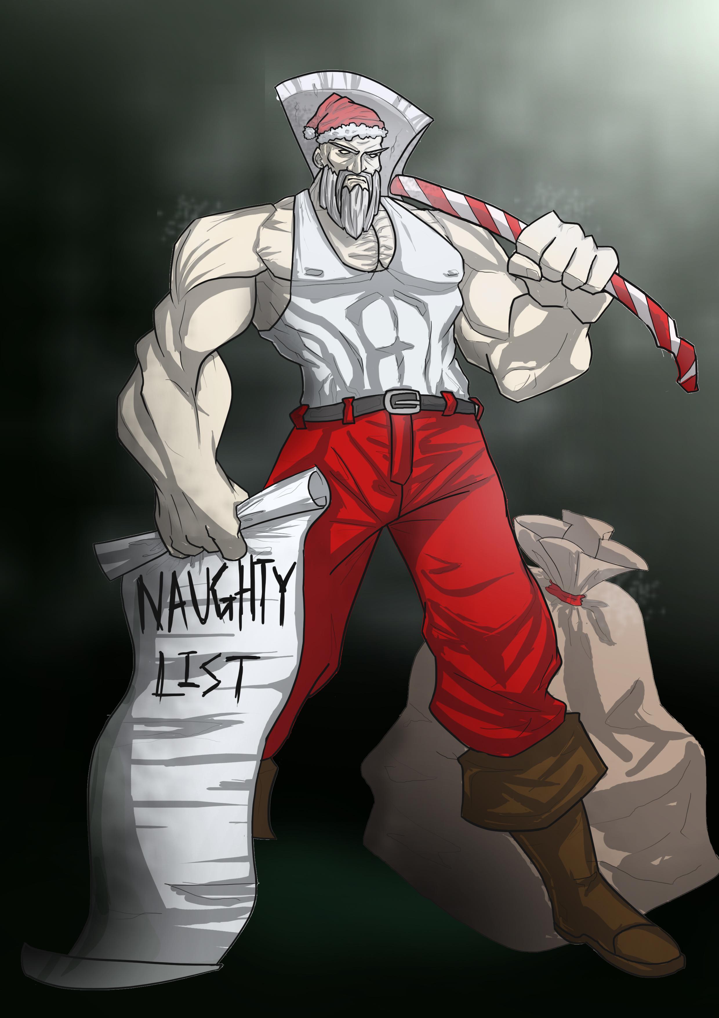Santa the Hunter