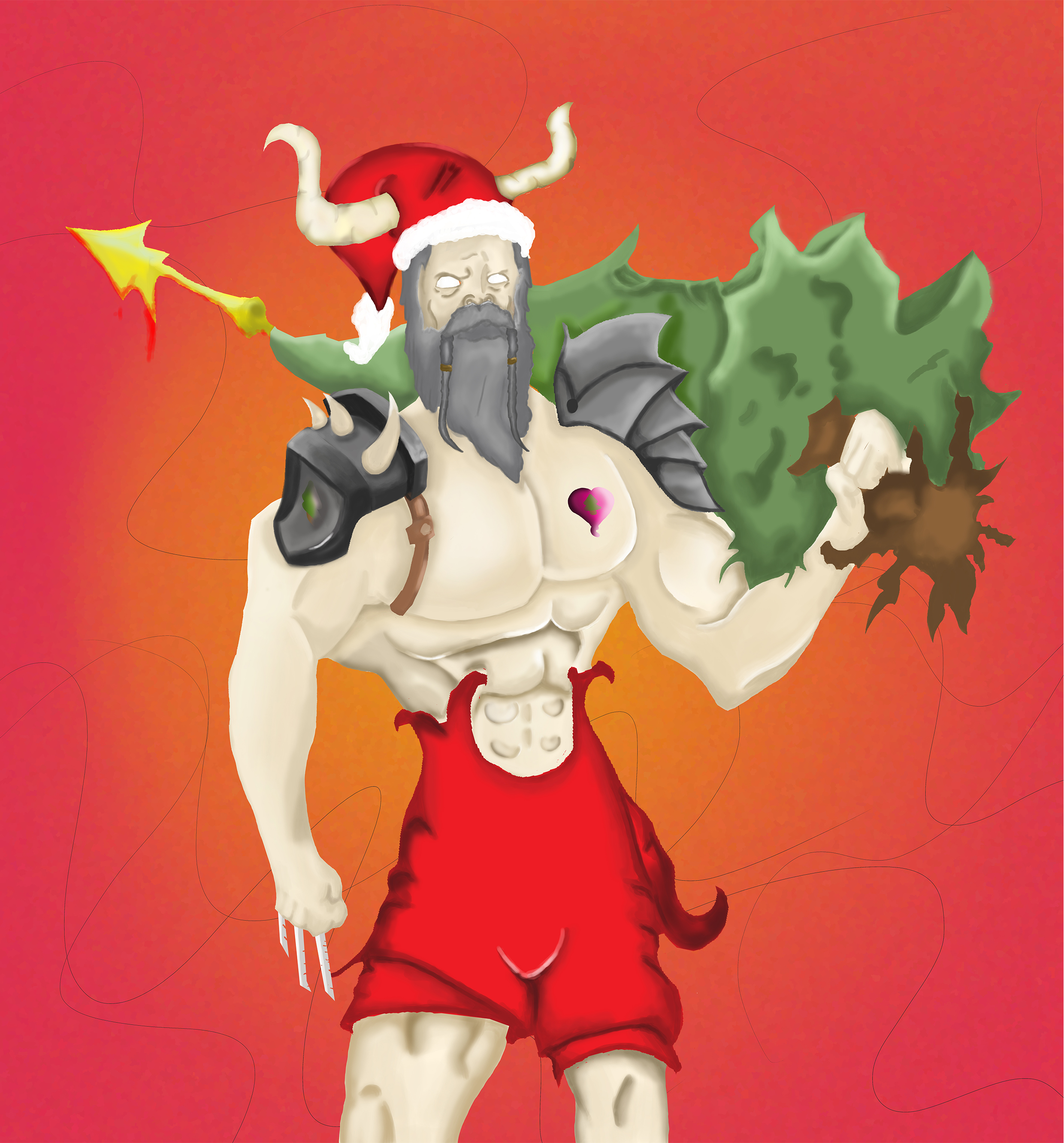 the epic Santa of hanouka..... i mean Christmas!