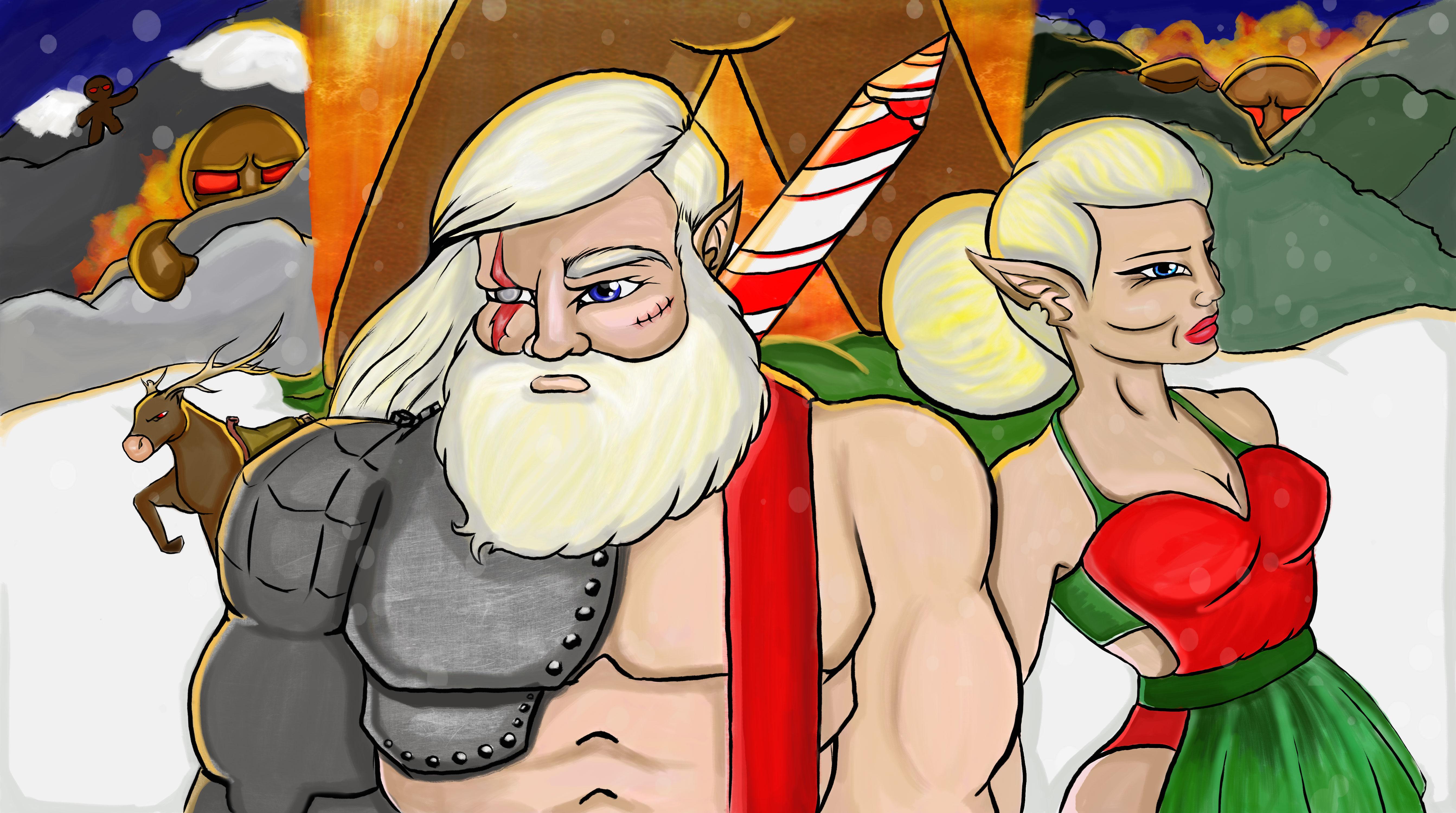Epic Veteran Santa