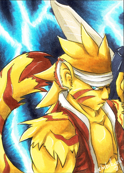 Rei - Breath of Fire - ACEO #45