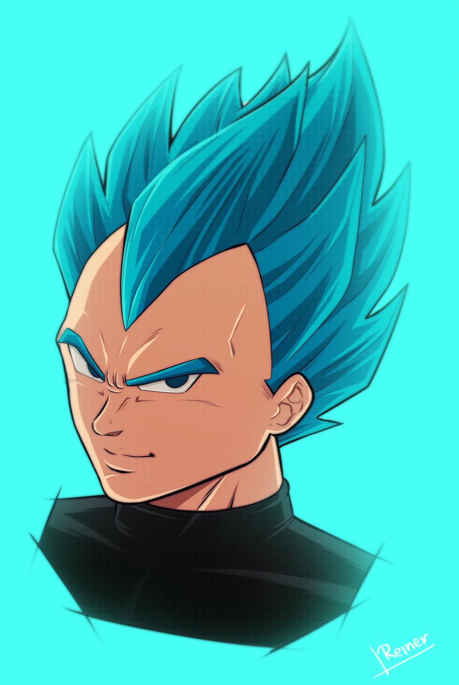 The blue god!