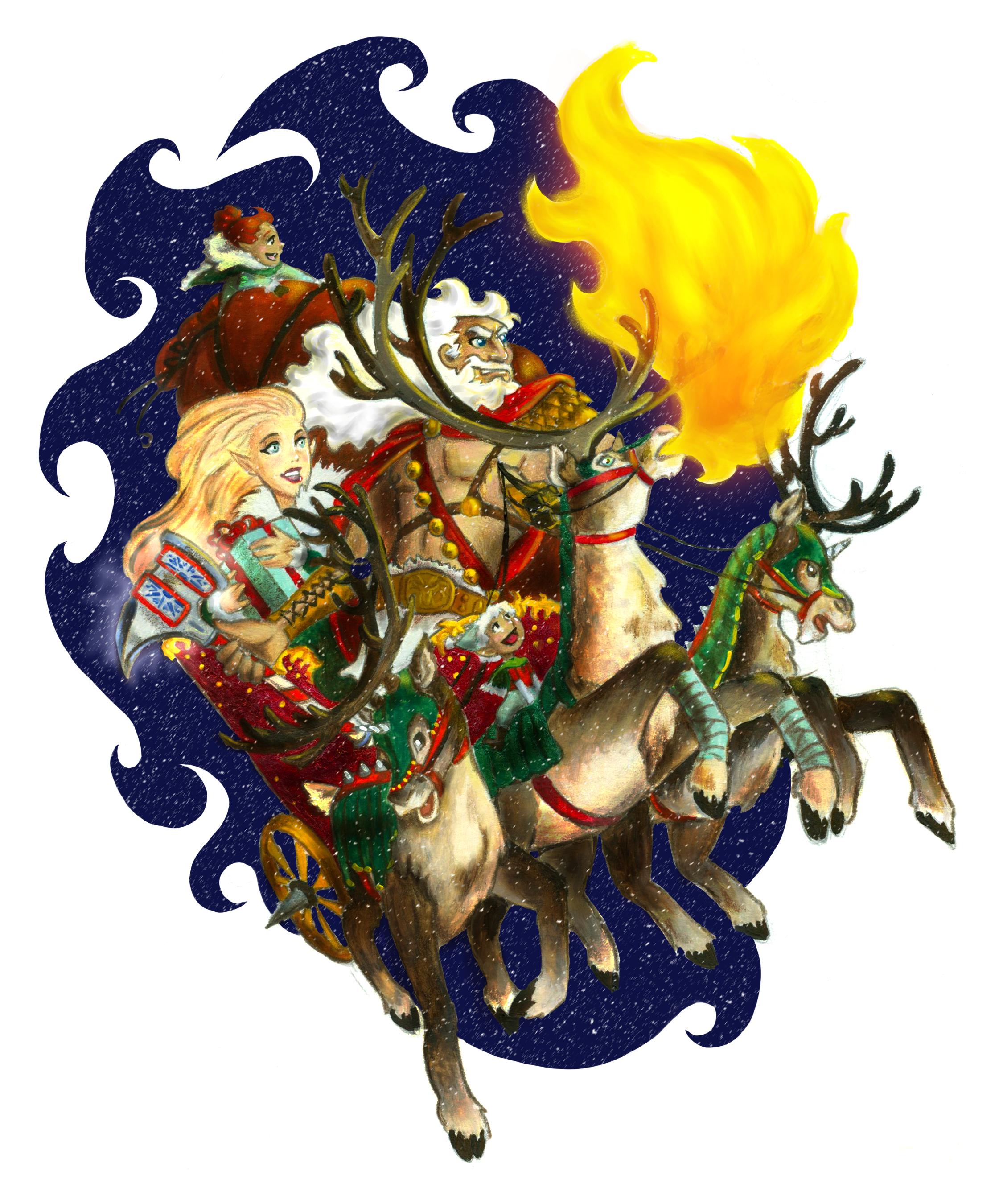 Santa's Midnight Ride