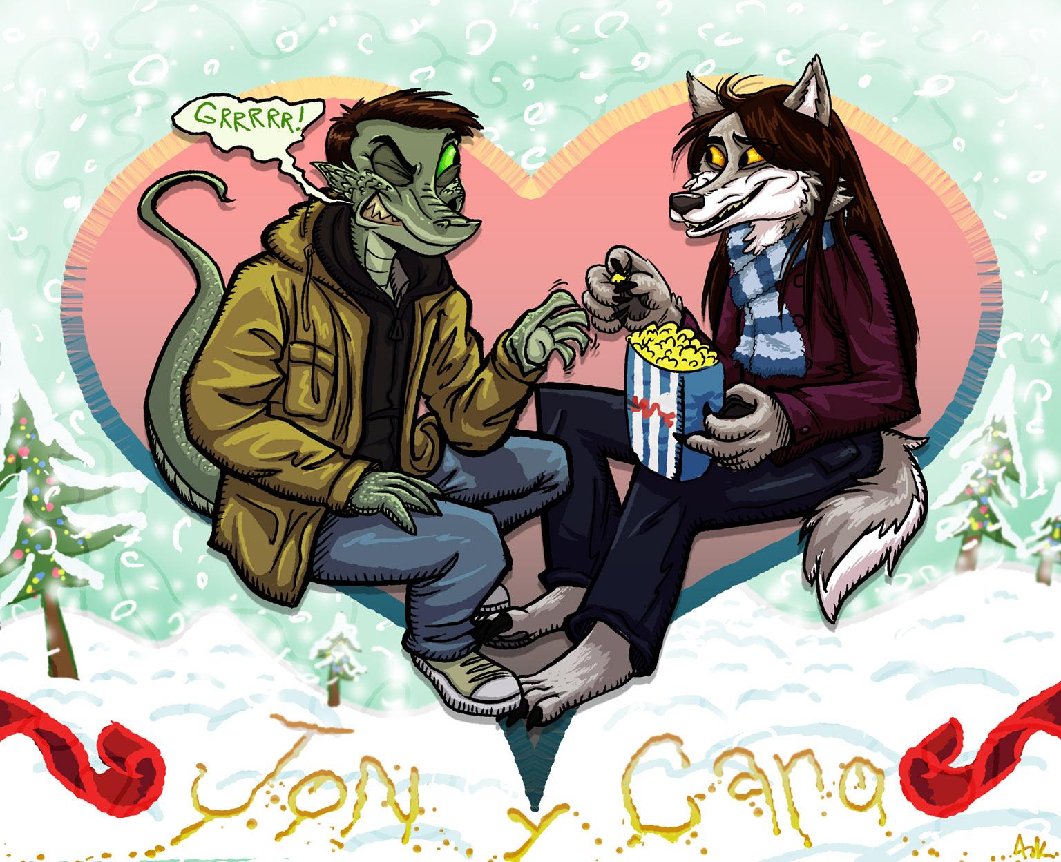 Jon and Caro