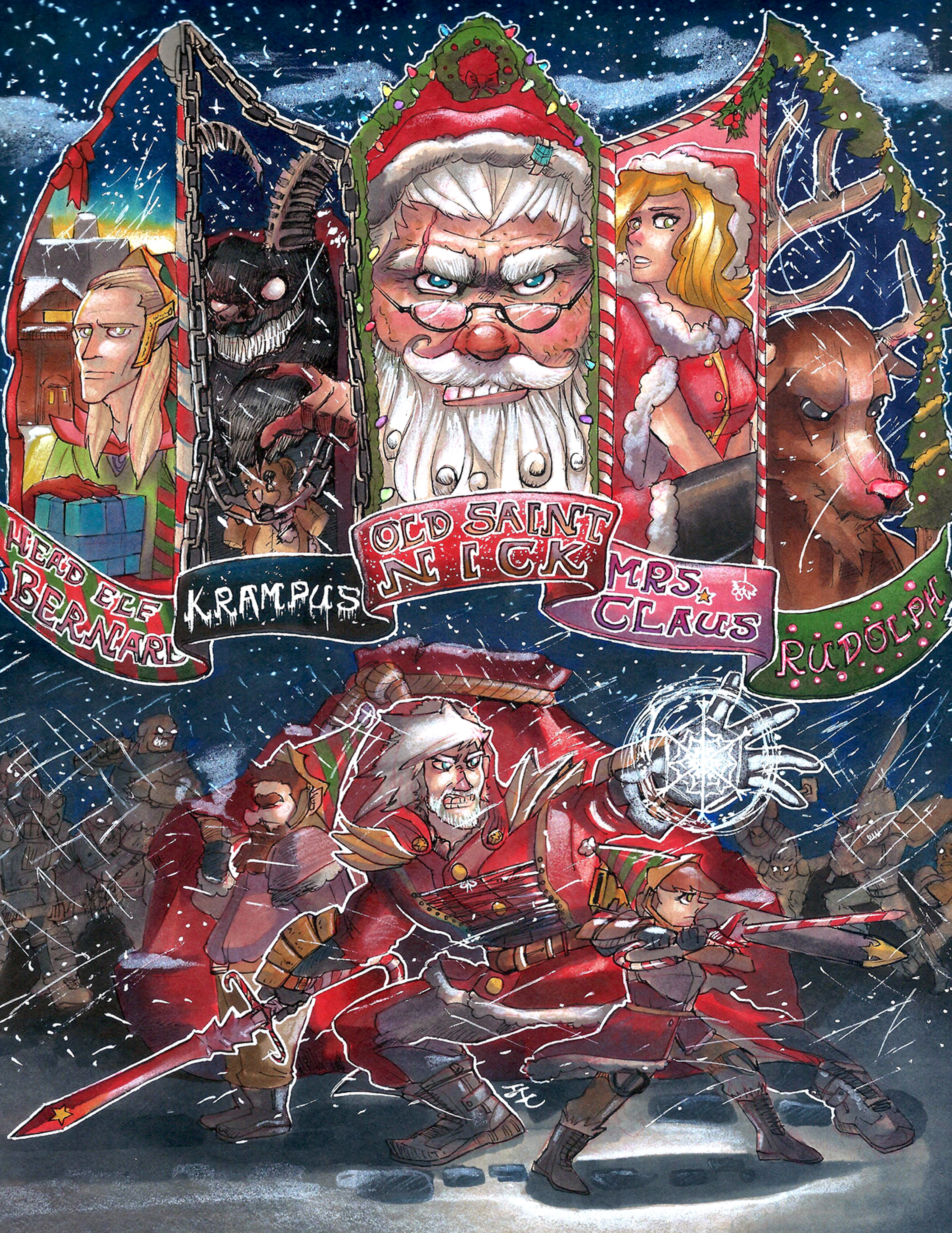 Journey to be The New Santa Claus