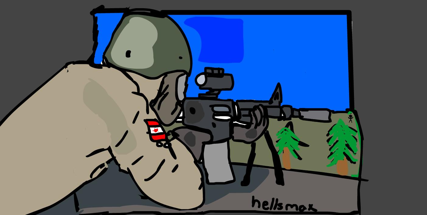 DayZ Standalone M4A1 Sniper