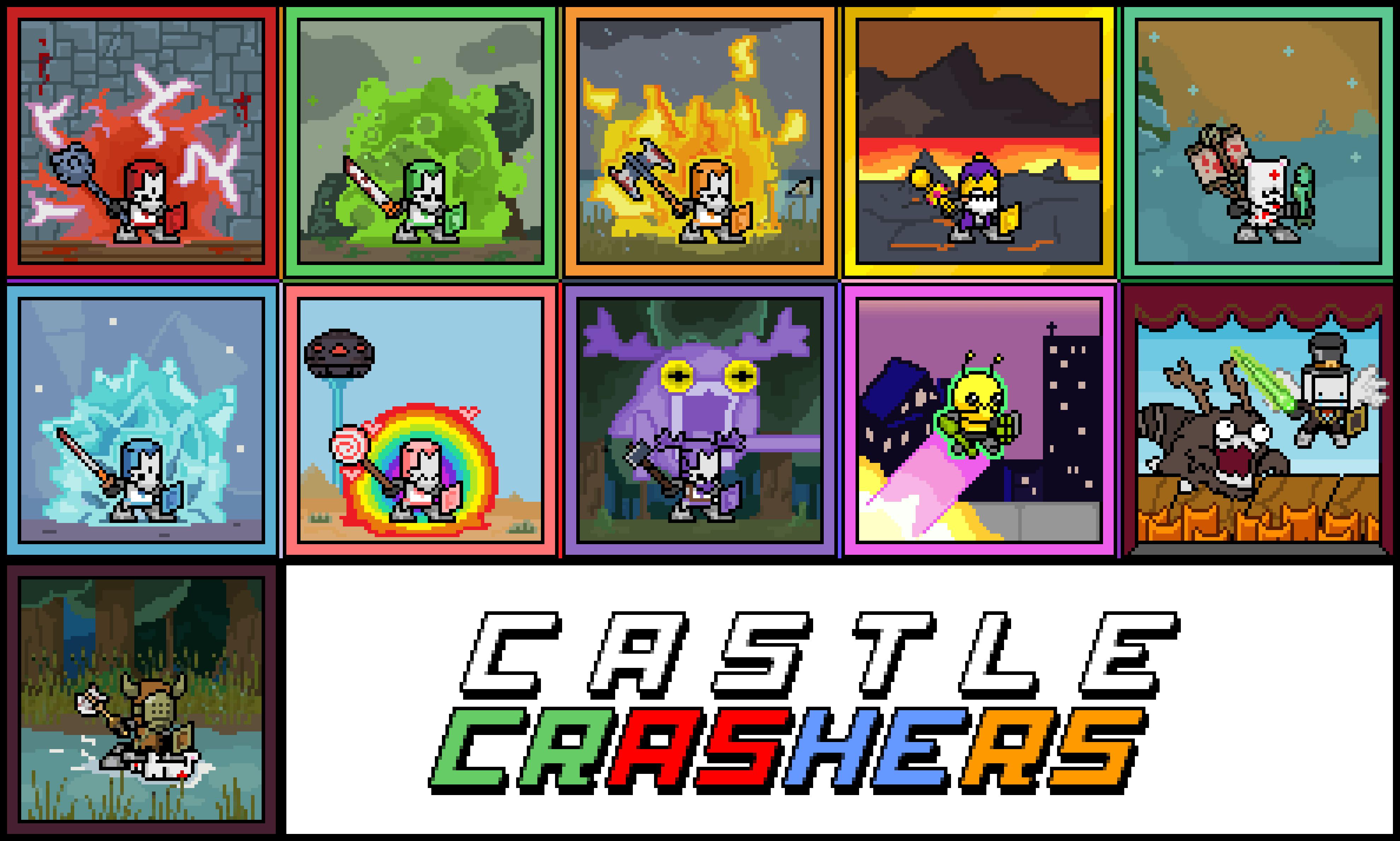 Castle Crashers Sprites