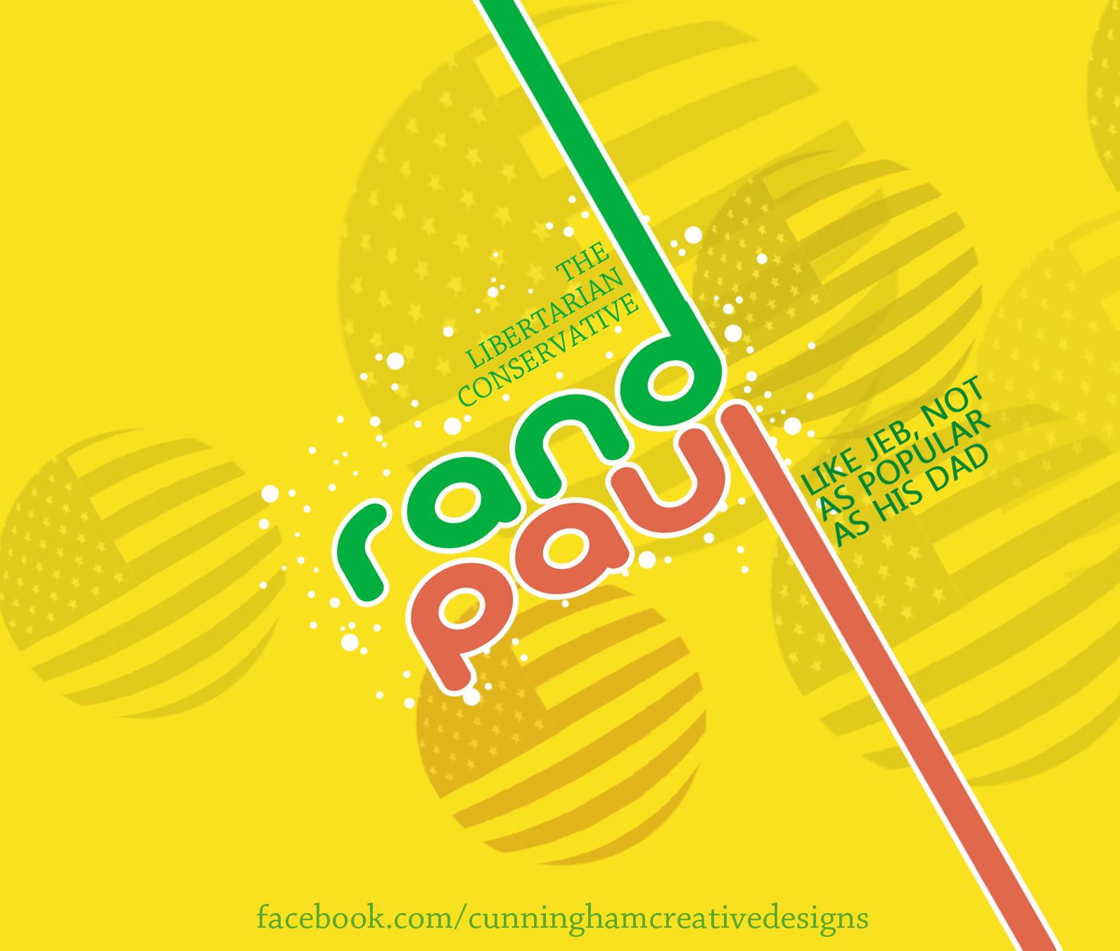 Presidential Soda Pop Series #6 Rand Paul