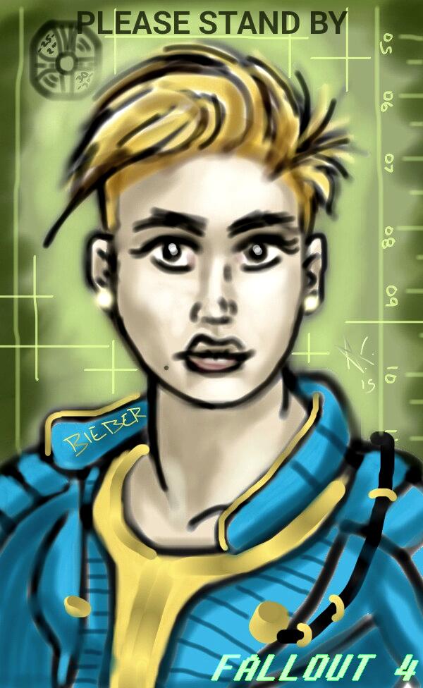Justin Bieber Fallout 4