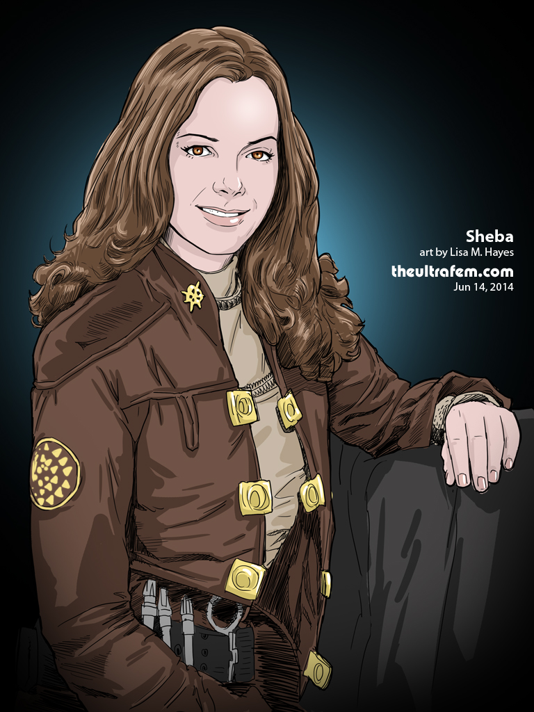 Sheba from Battlestar Galactica
