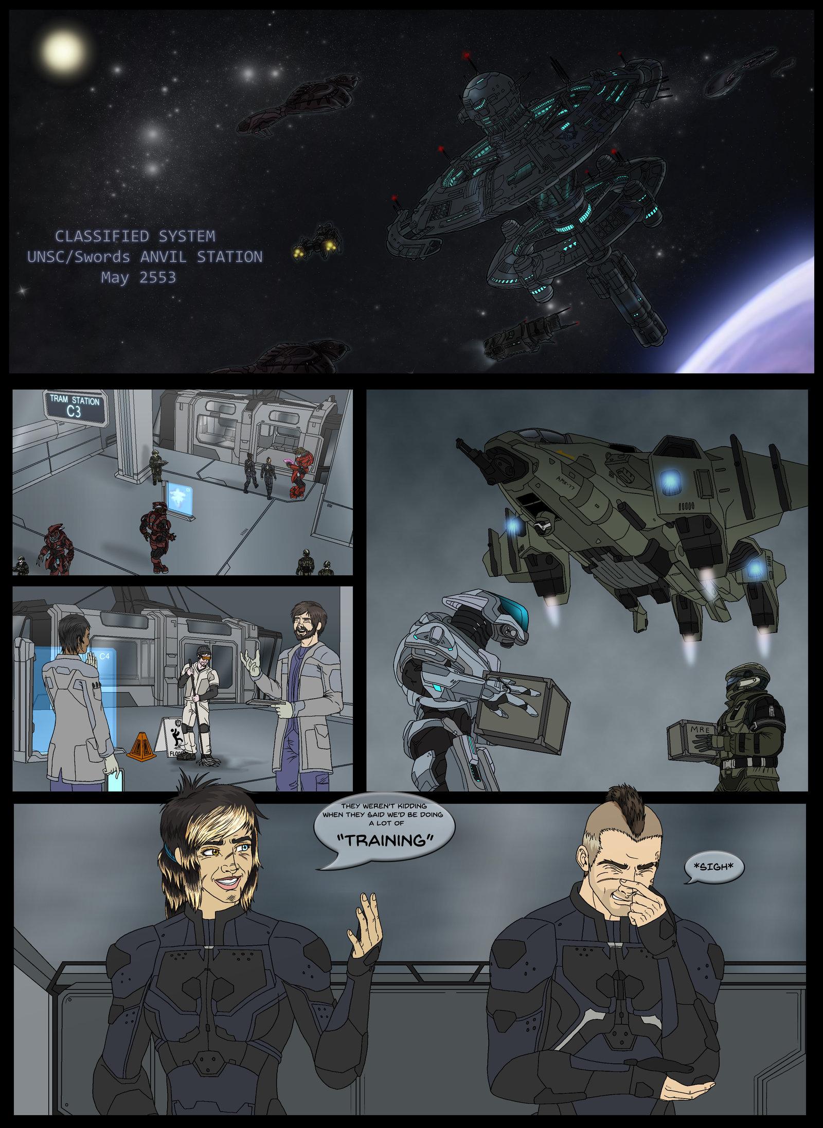 Halo Ammunition: ANVIL Initiative Pg 2 by Halochief89 on