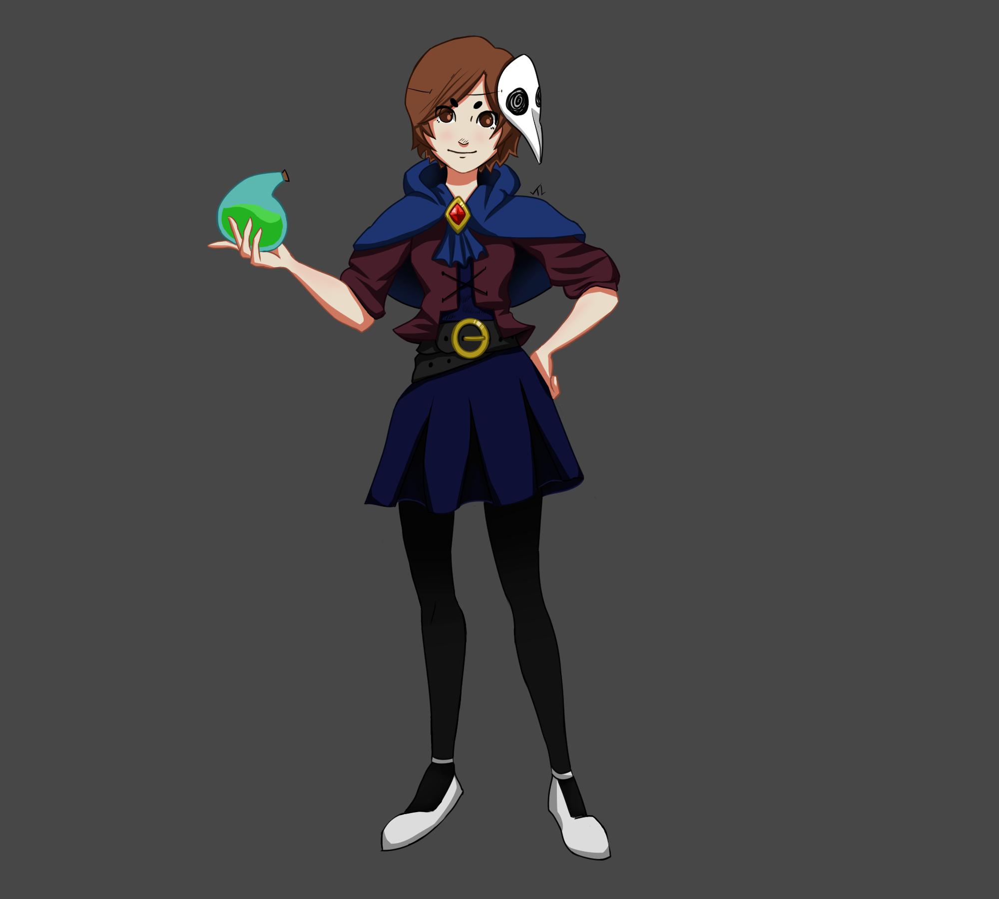 Plague Doctor Girl
