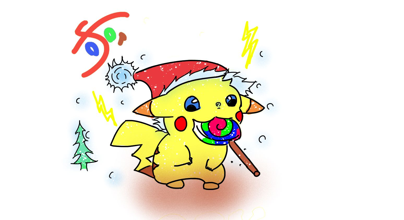Happy Christmas Pika
