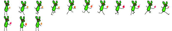 Spritesheet from game I never got done