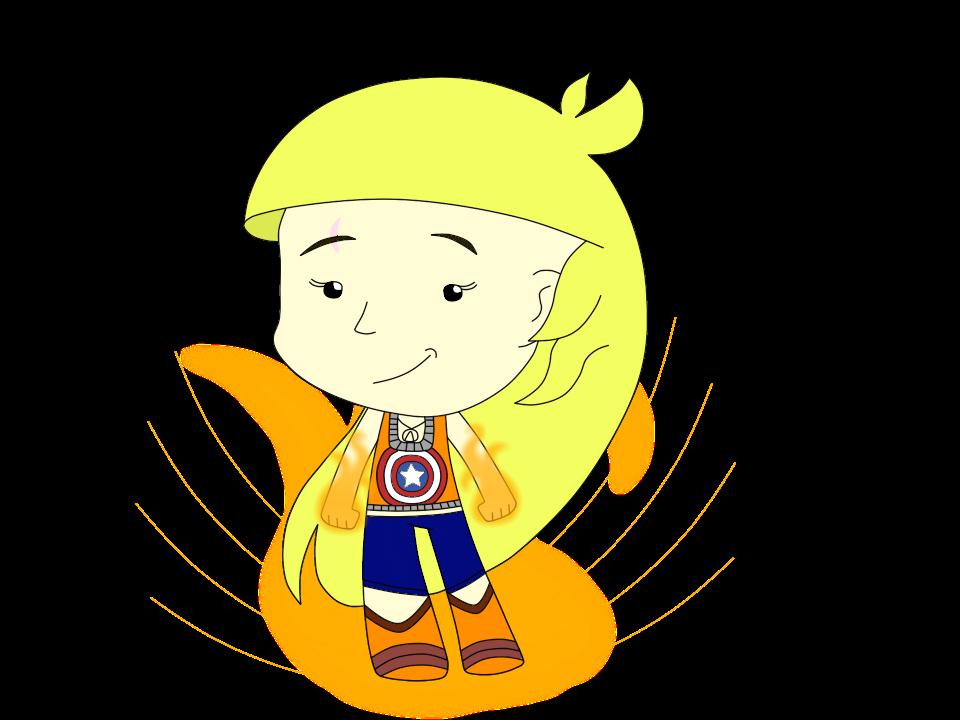 I Am Mighty! (Chibi)