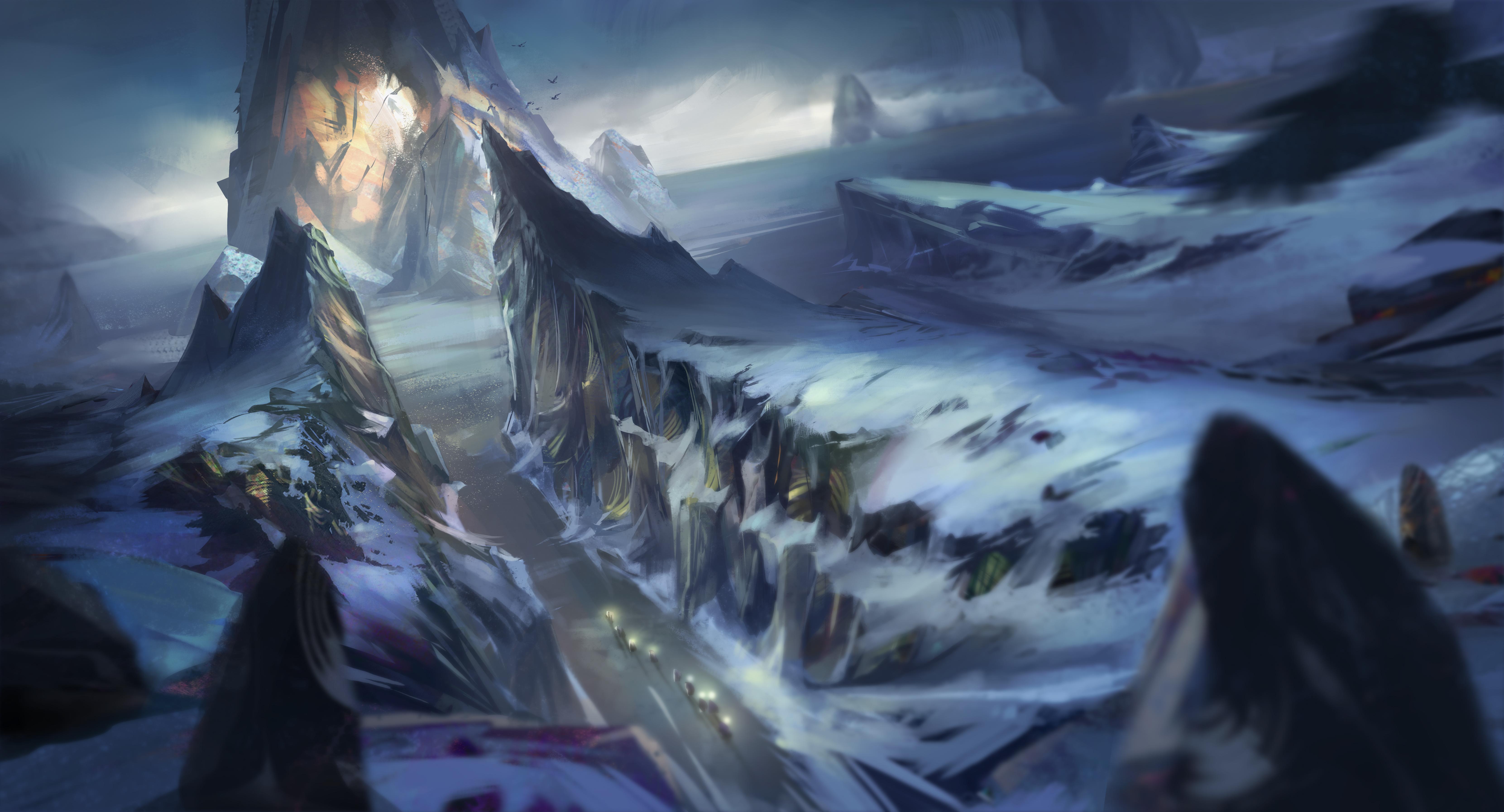 Snow Obsidian